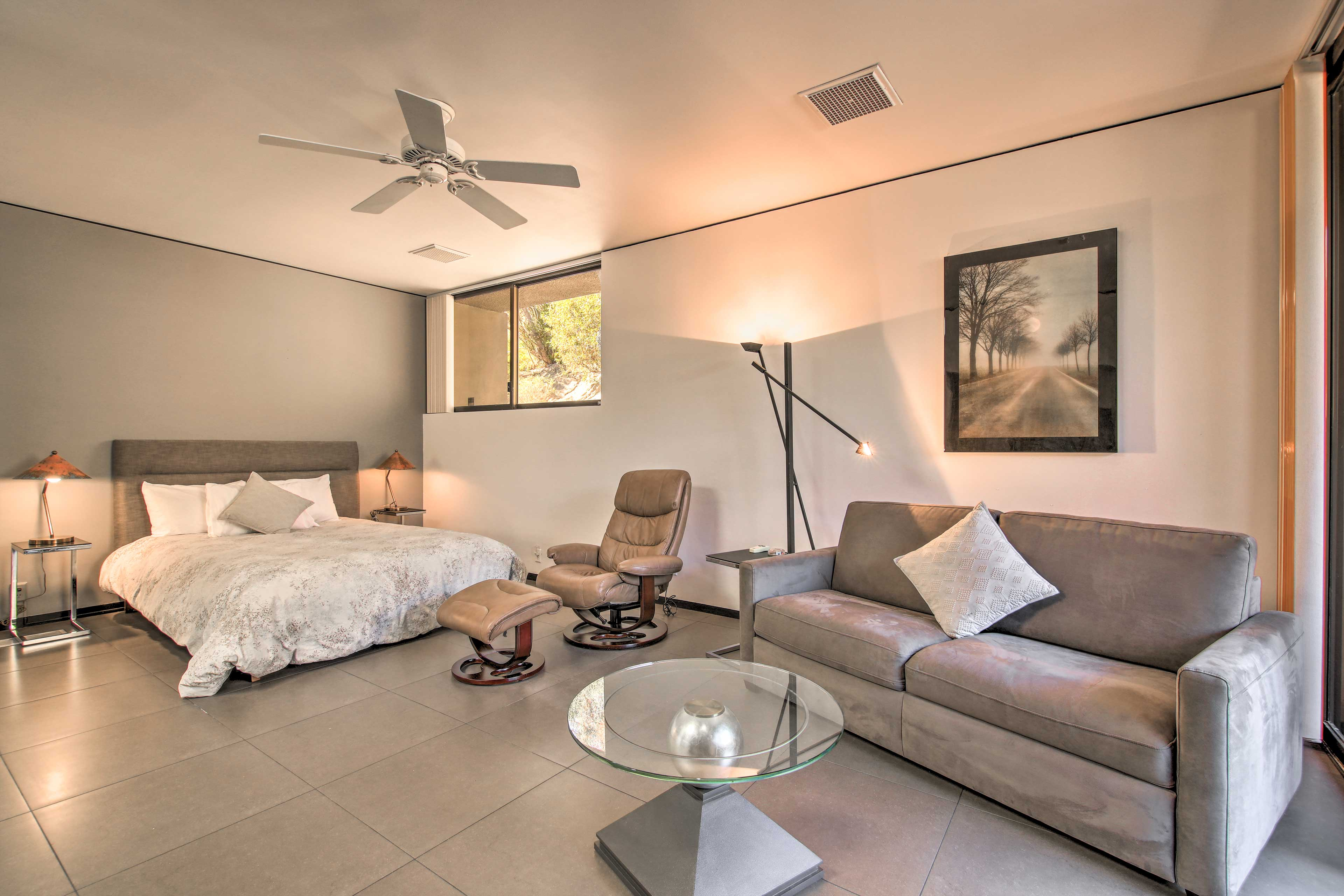 Bedroom 2 | Queen Bed | Cable TV | Patio Access