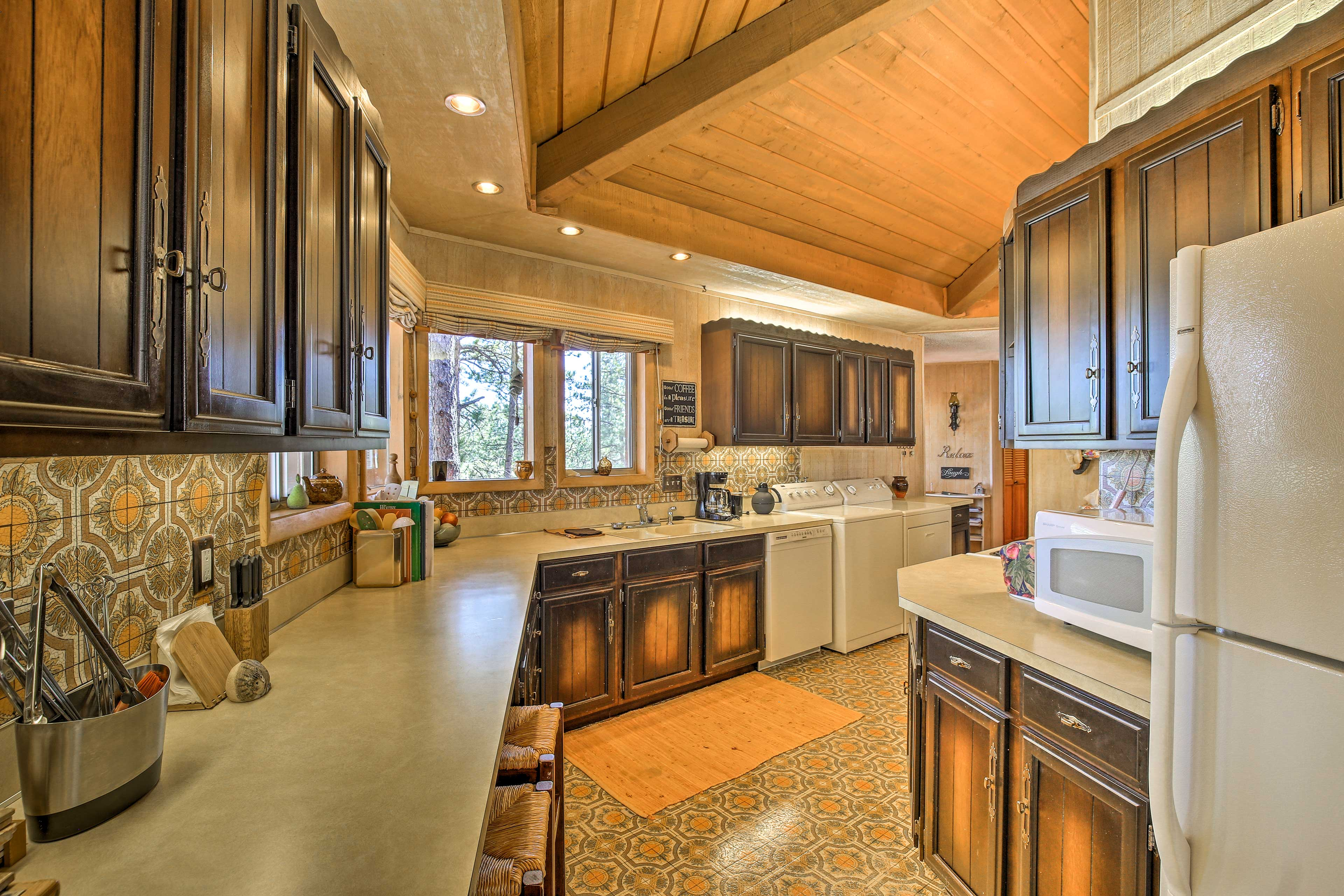 Fully Equipped Kitchen | Main Floor | Cooking Basics | Drip Coffee Maker