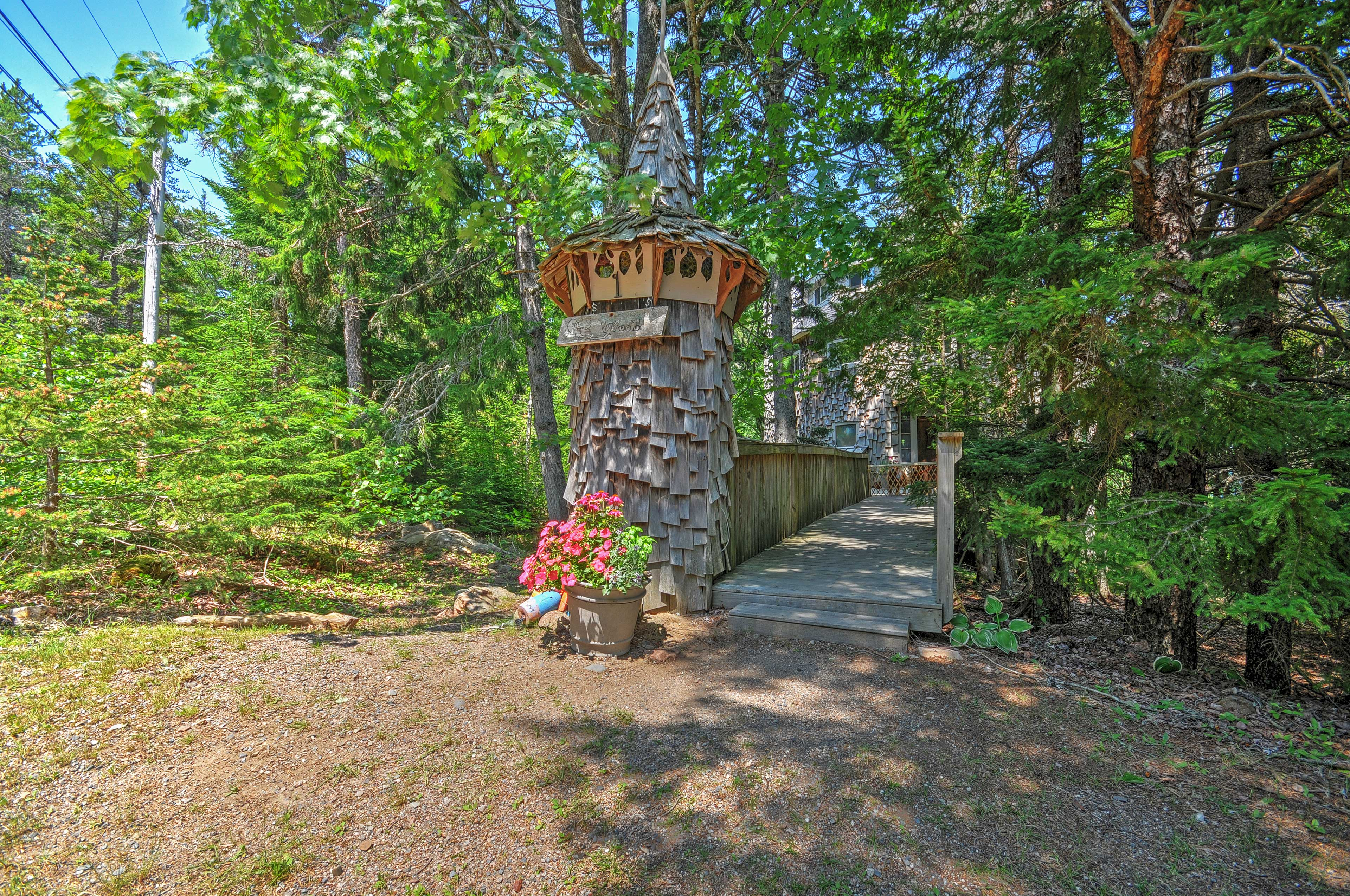 Cottage Exterior | Located on 6.7 Private Acres