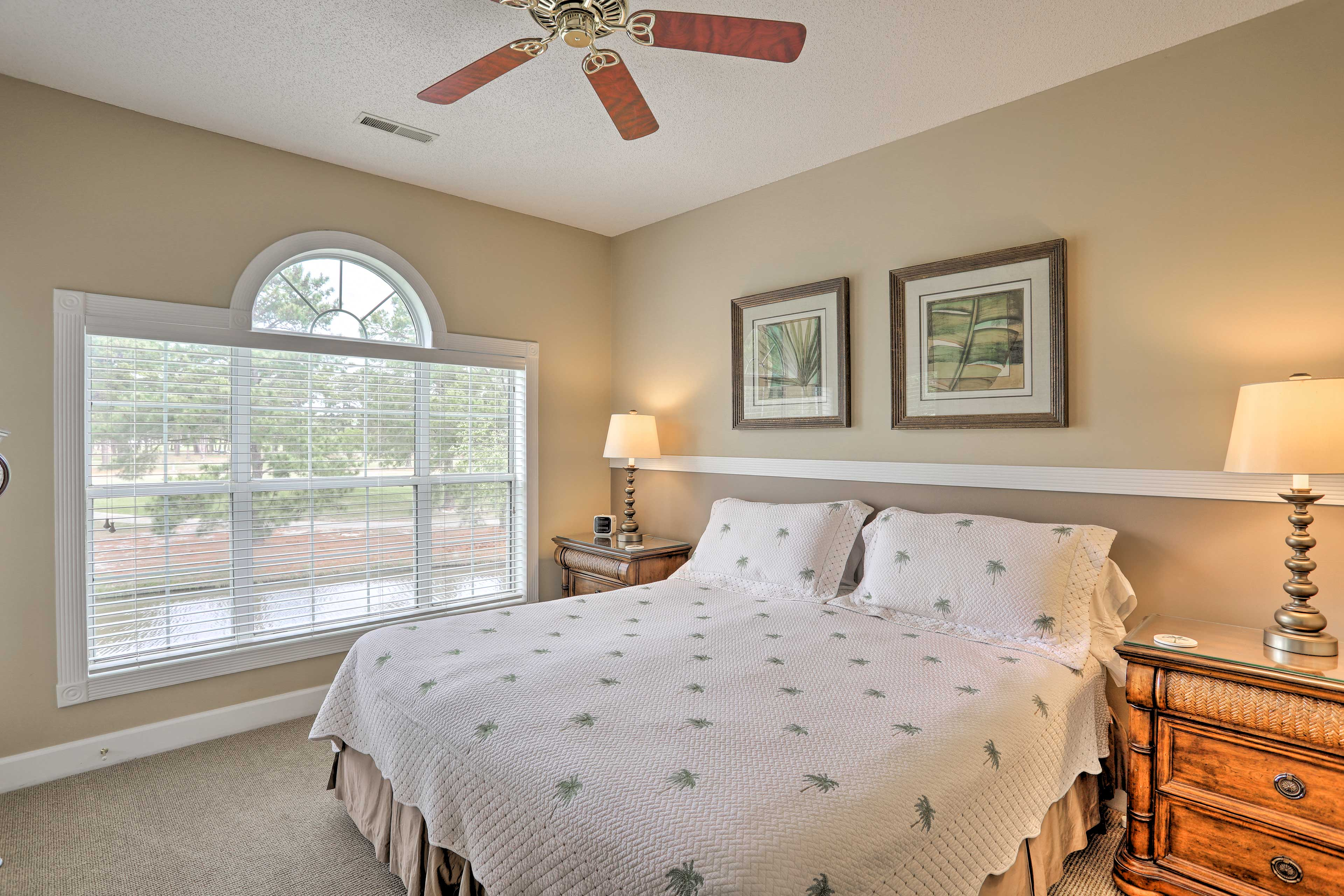 Master Bedroom | King Bed or 2 XL Twin Beds