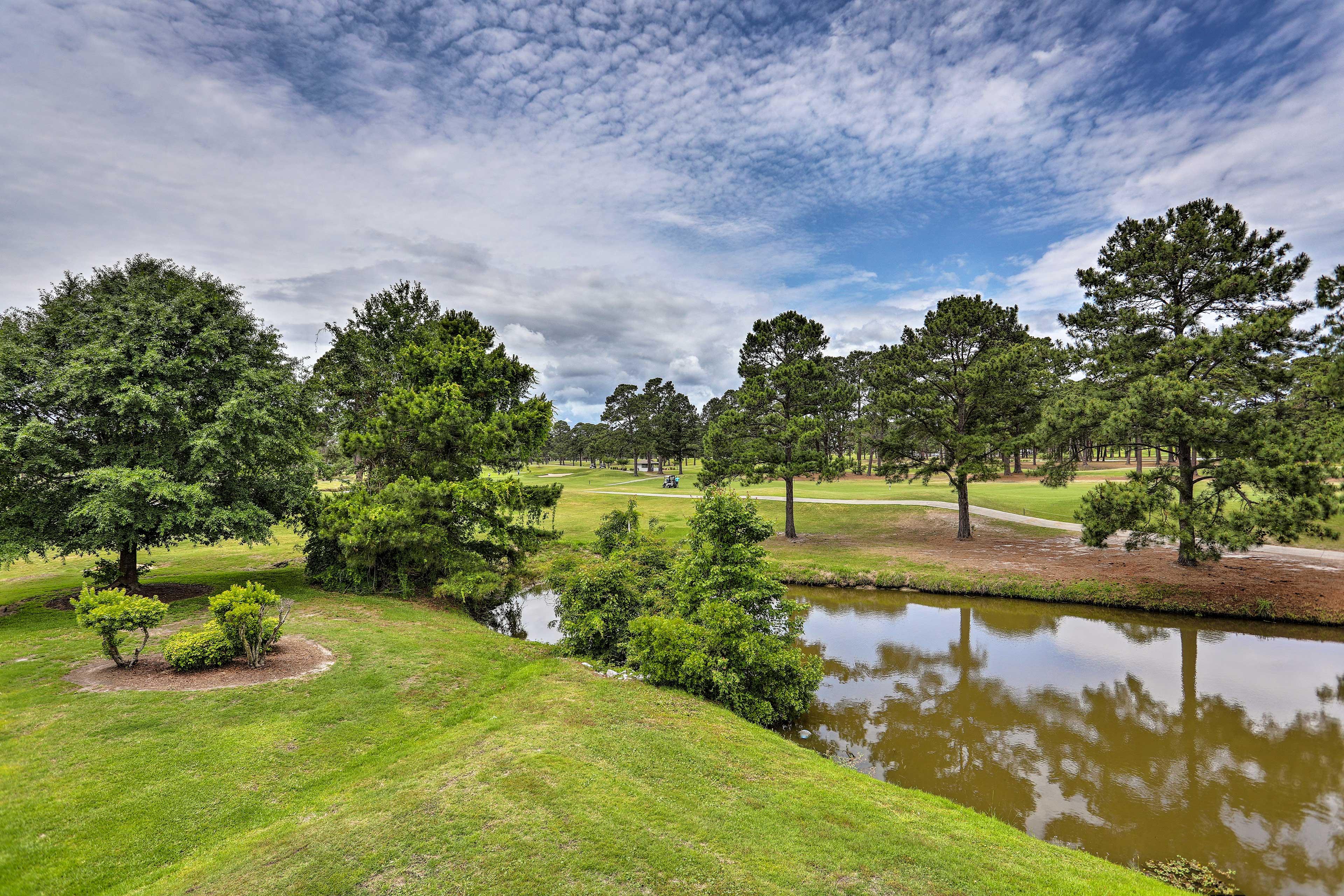 Views of Myrtlewood's Pine Hills Golf Course