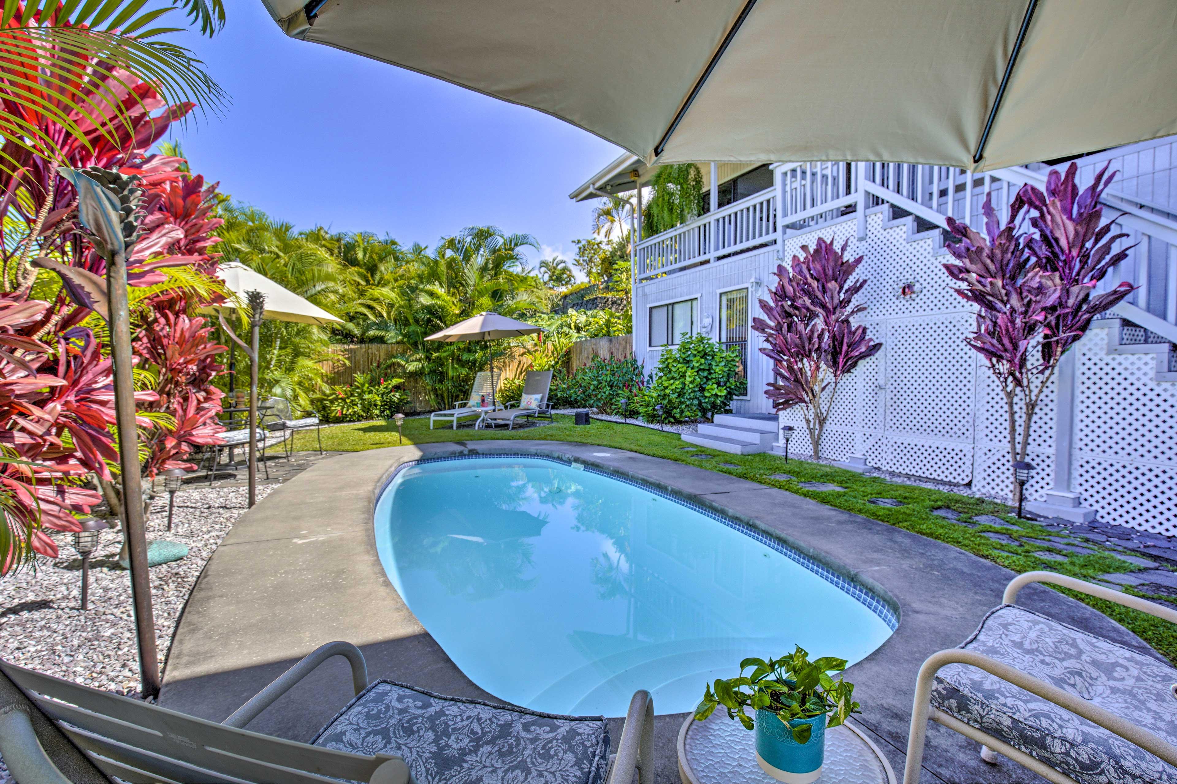 Kailua-Kona Vacation Rental | 1BR | 1BA | 729 Sq Ft | 2 Stories
