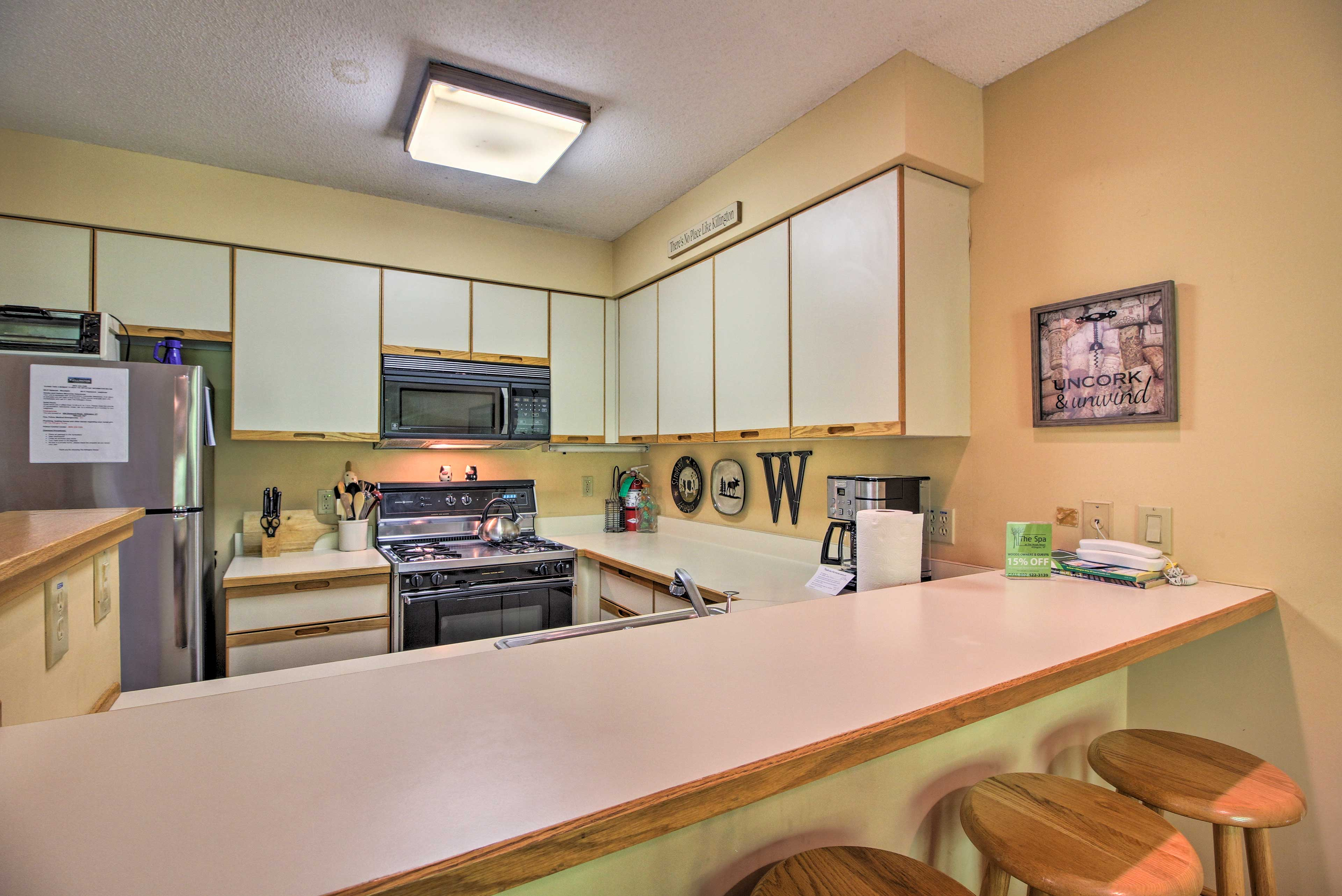 Fully Equipped Kitchen | Spices | Standard Drip Coffee Maker