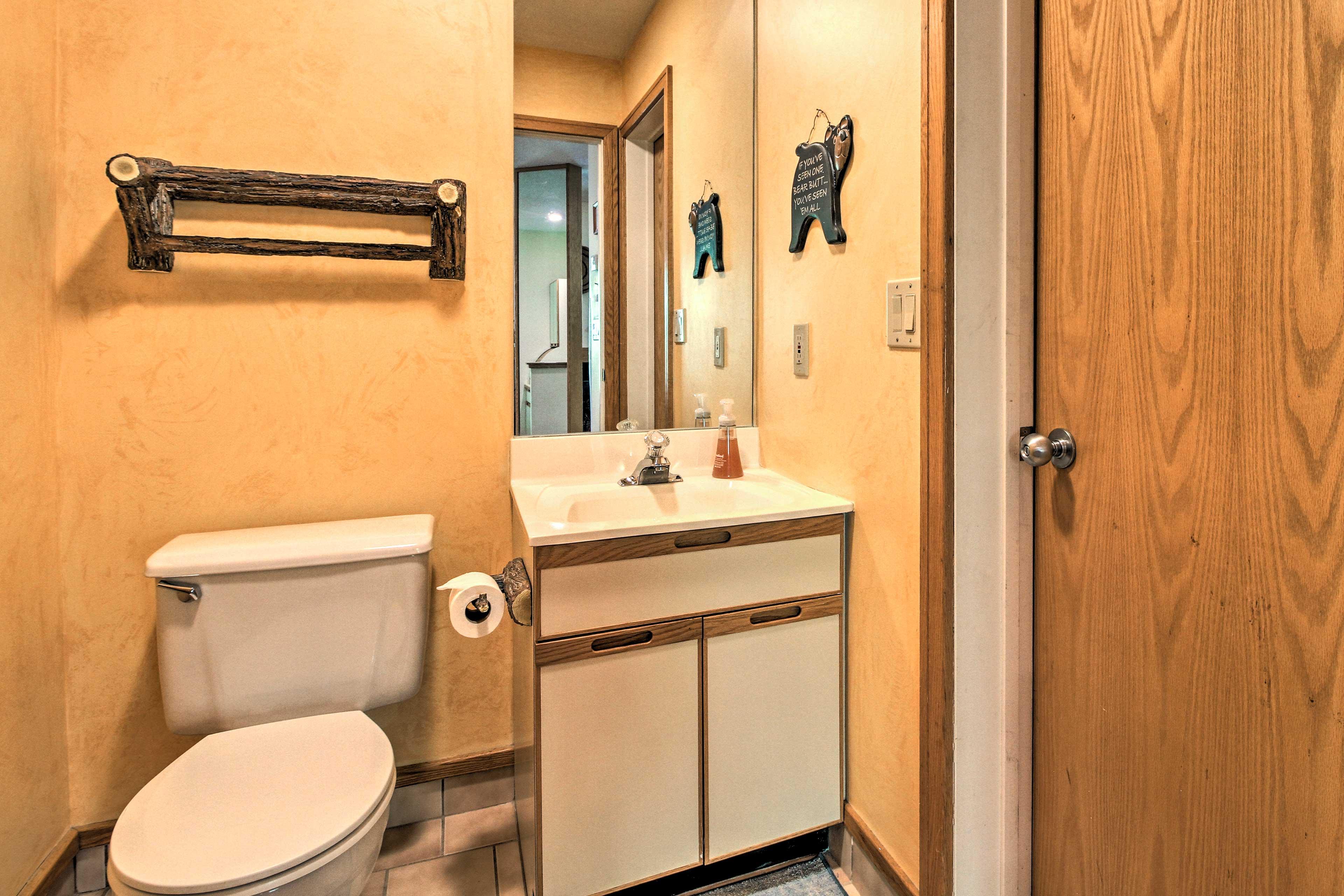 Half Bathroom | Ground Floor