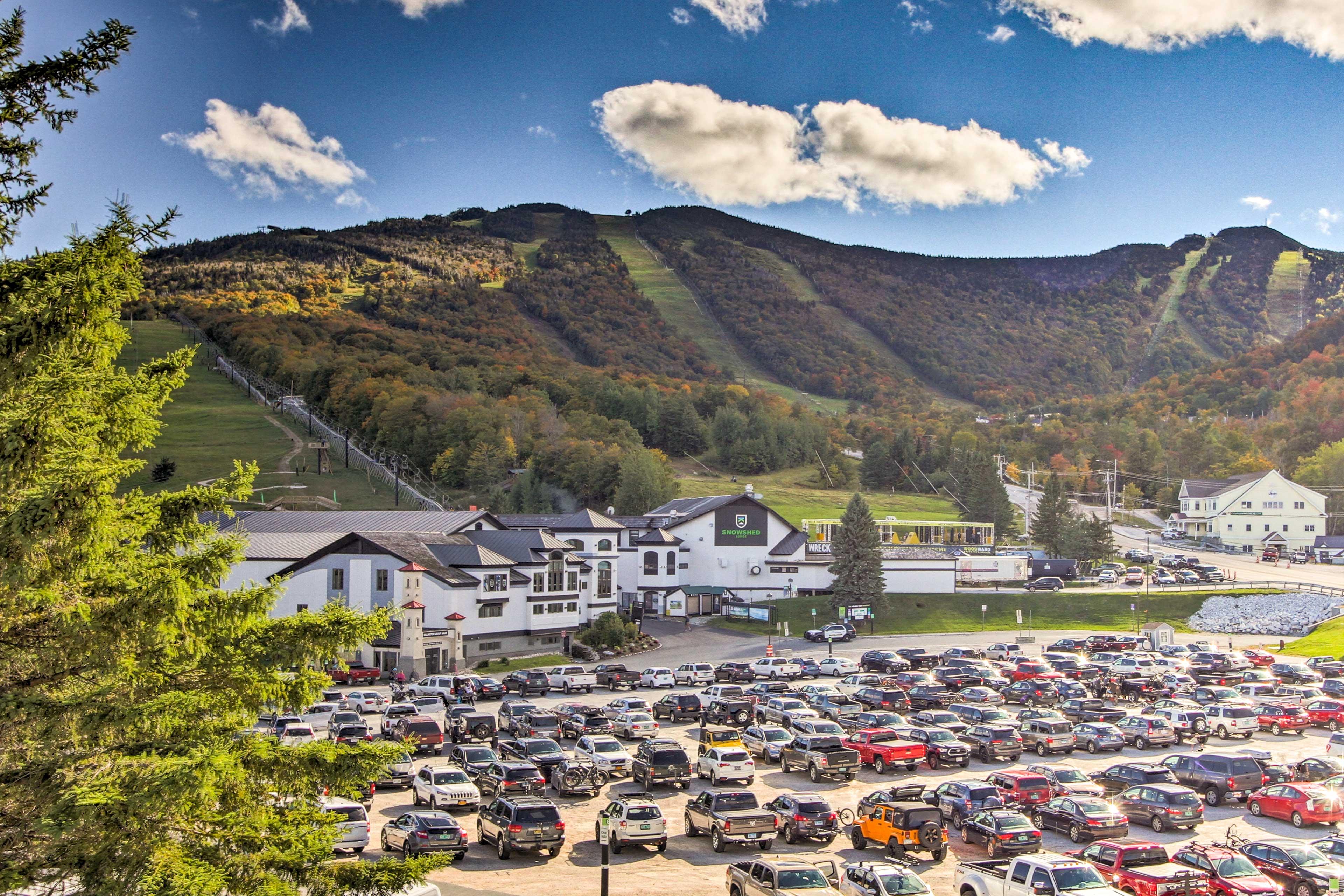 Pico Mountain Ski Resort (3.4 miles)