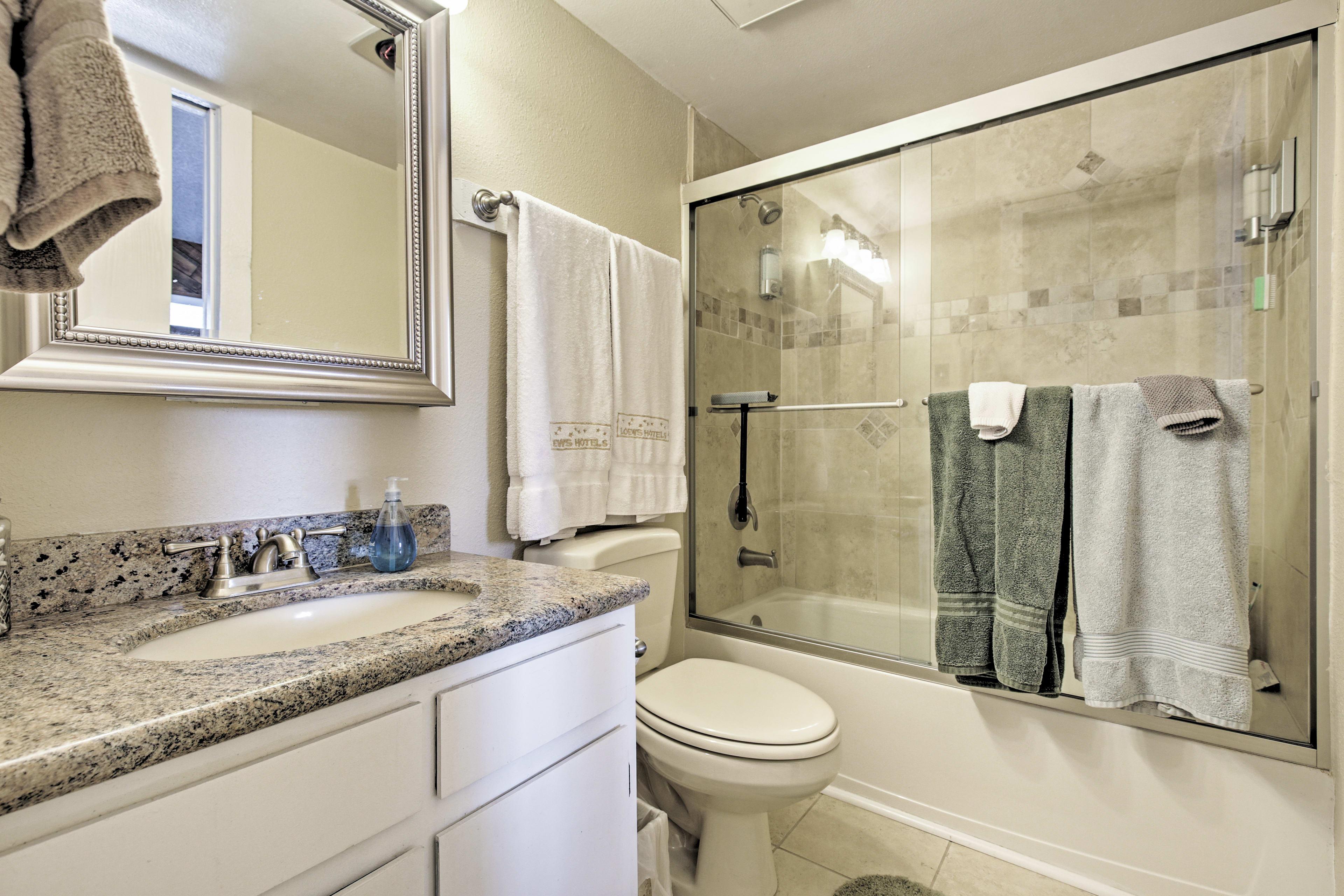 En-Suite Bathroom | Basic Toiletries Provided | Hair Dryer