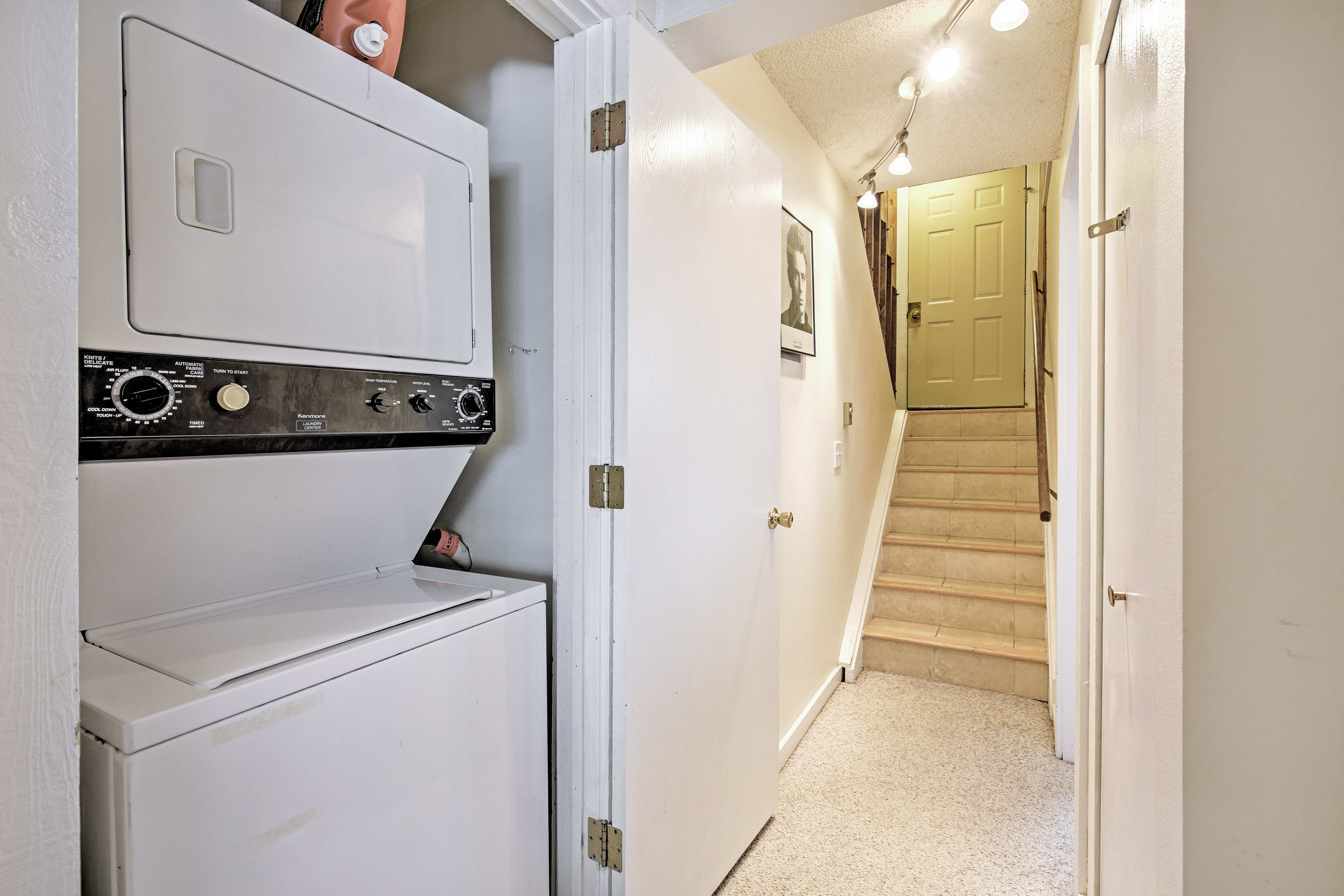 In-Unit Laundry Machines | Ground Floor | Cleaning Essentials Provided