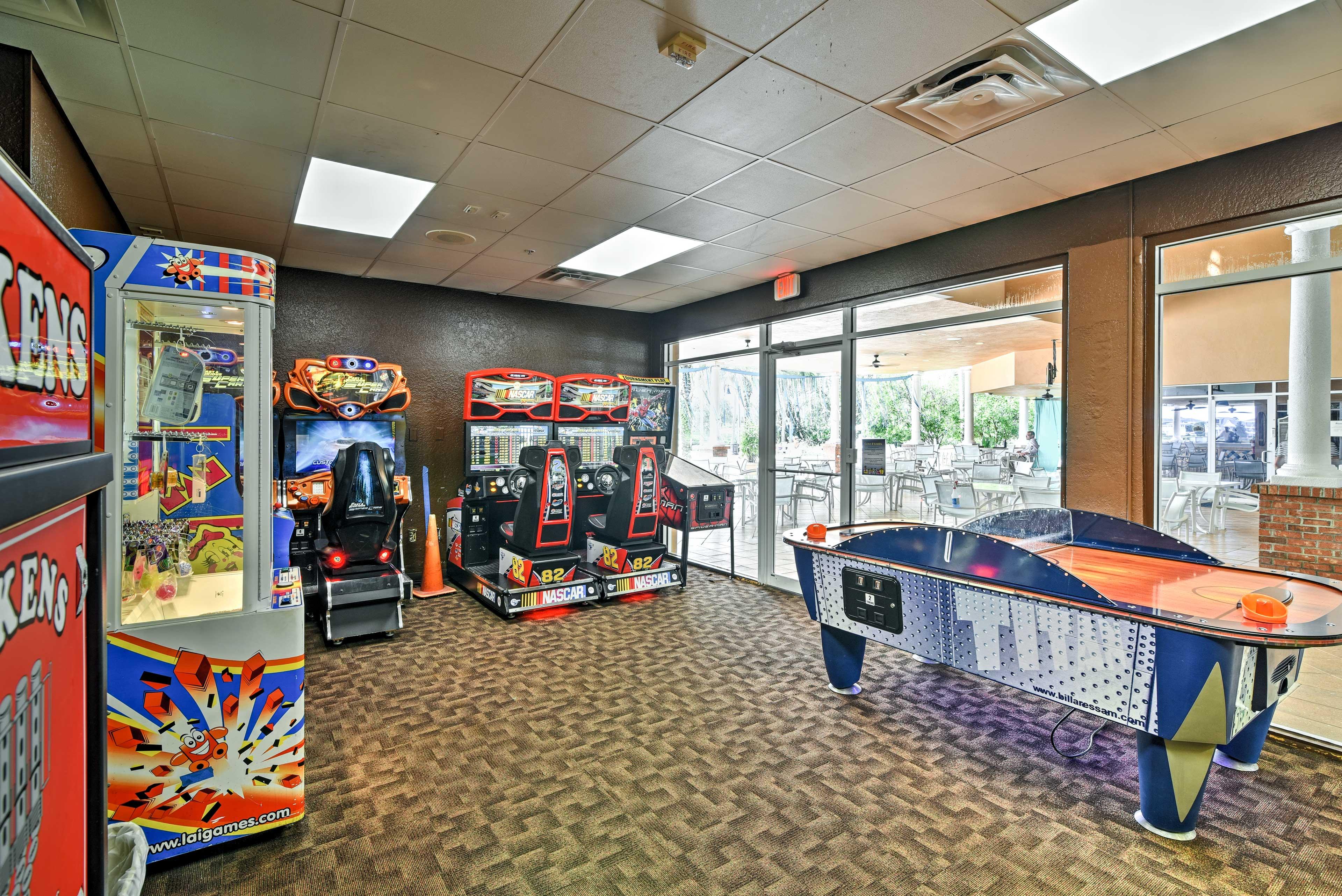 Resort Amenities | Arcade Room
