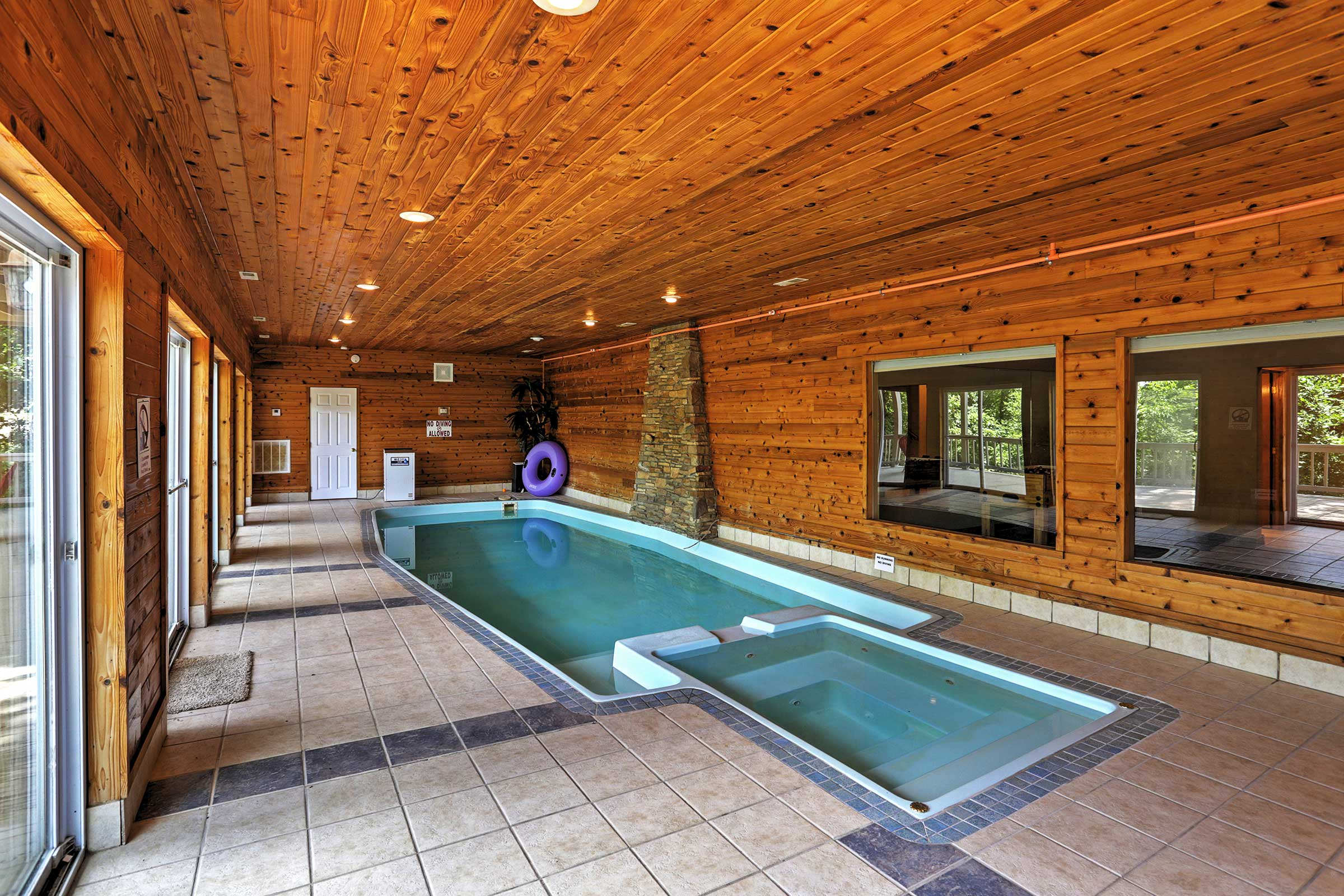Indoor Swimming Pool (Heated w/ Fee) | Beach Towels Not Provided