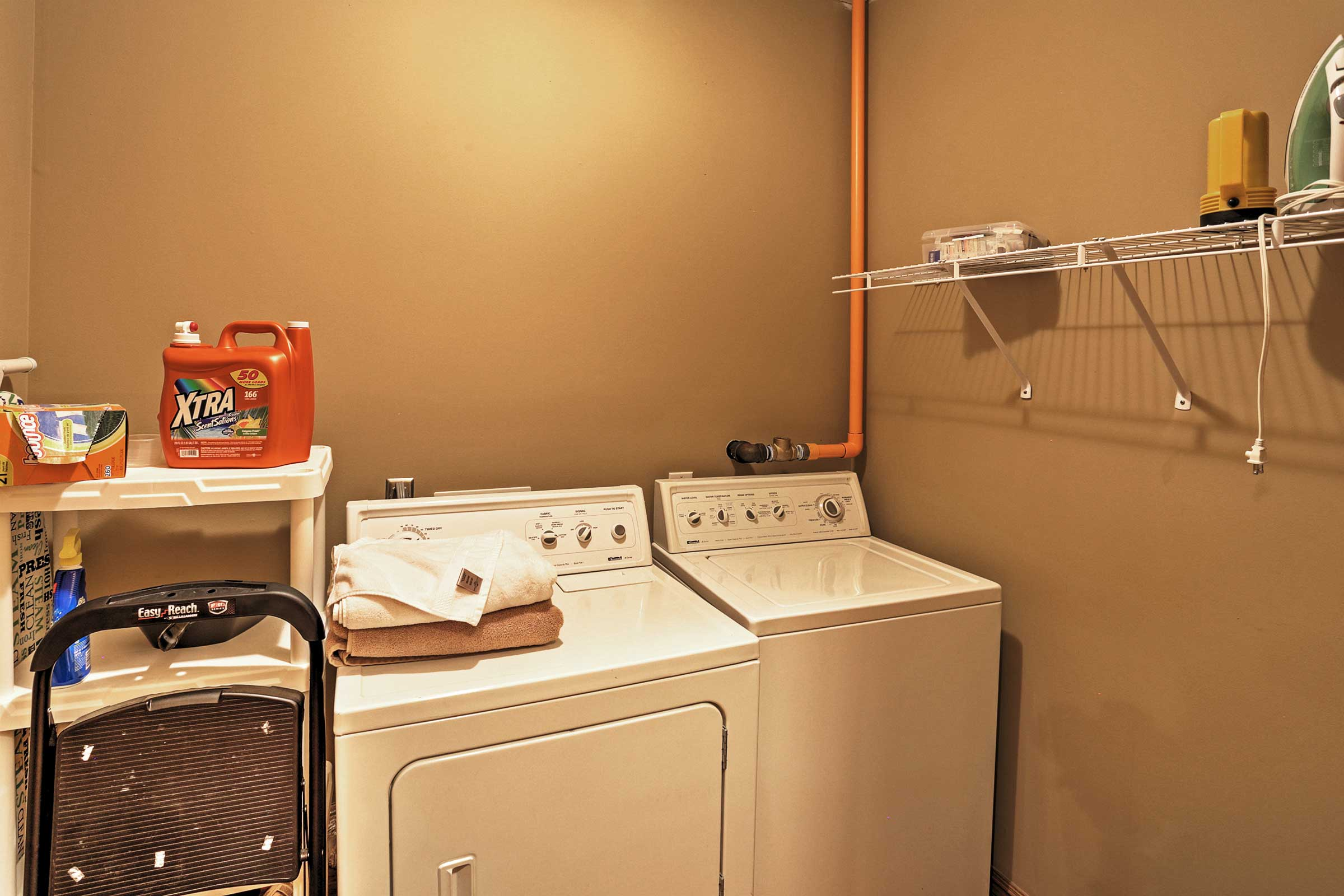 Laundry Room | Laundry Detergent Provided
