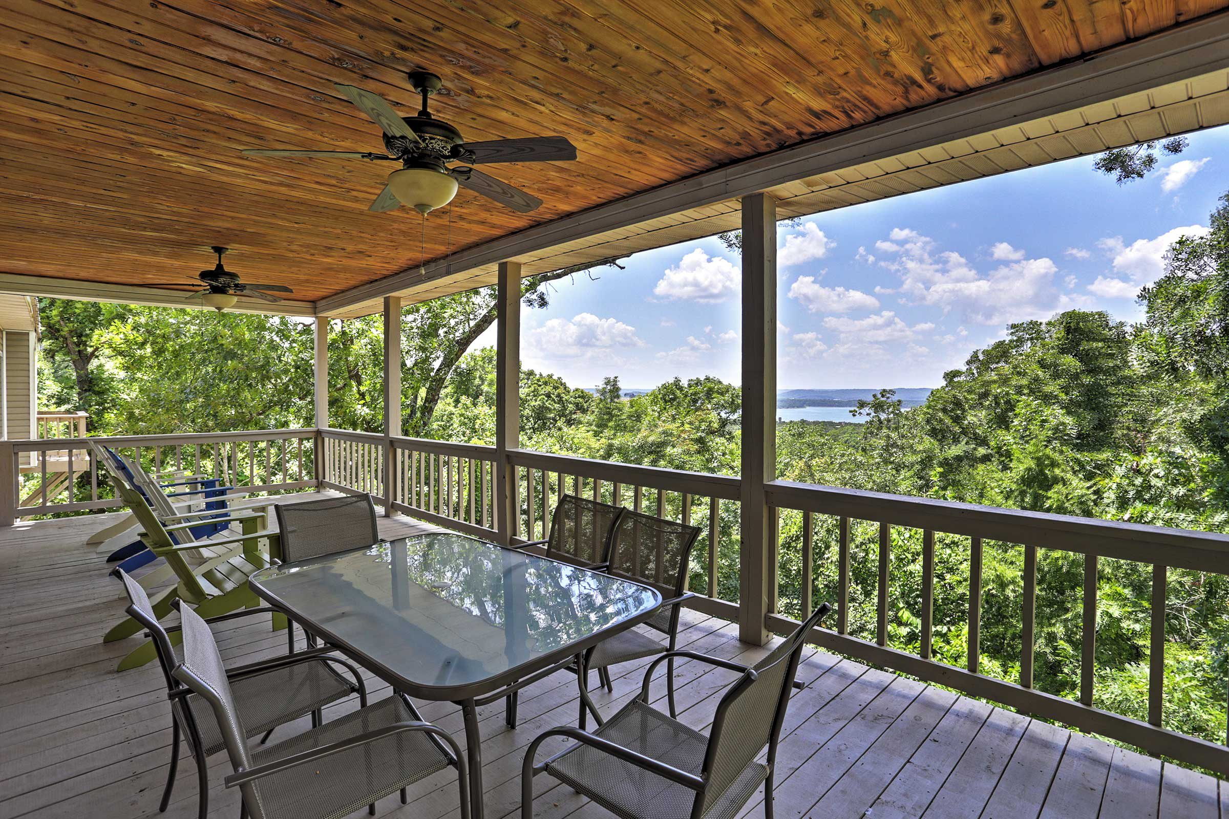 Branson Vacation Rental | 3-Story Home | 4BR | 3.5BA | 7,750 Sq Ft