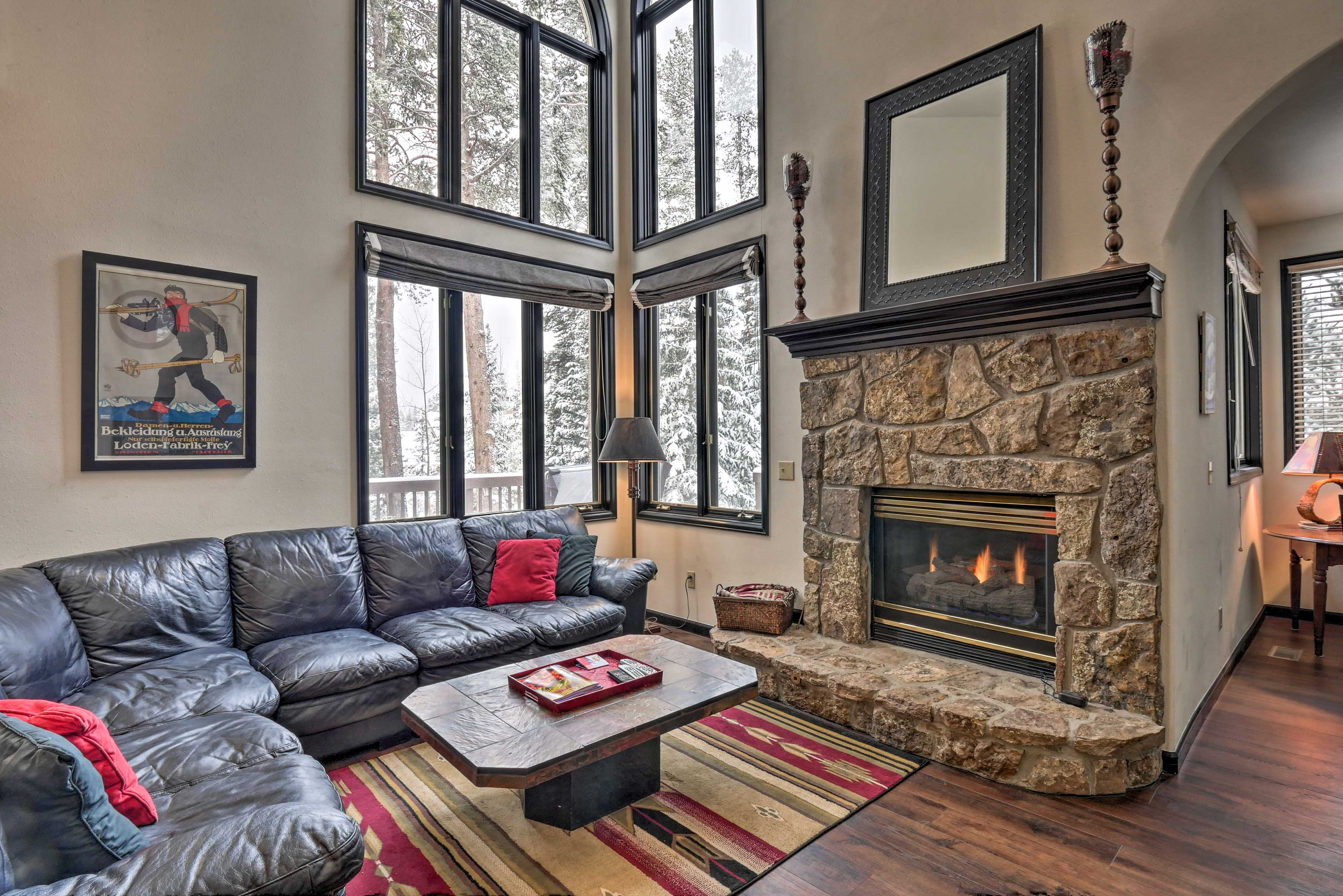 Breckenridge Vacation Rental Home   4BR   3BA   3,200 Sq Ft   Stairs Required