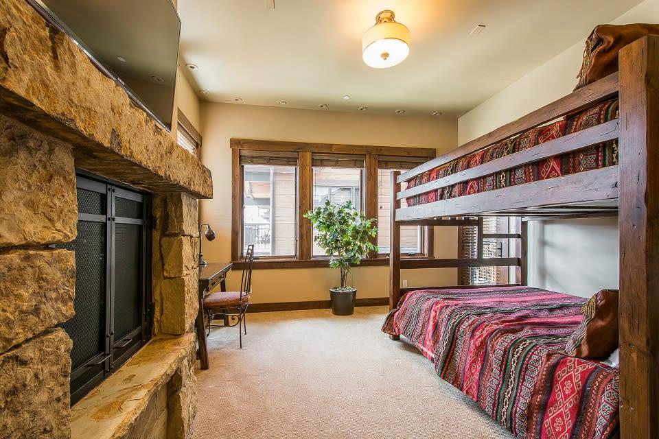 Bedroom 2 | Queen Bunk Bed | Second Floor
