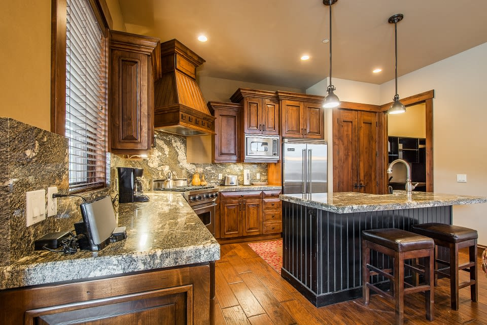 Kitchen | Fully Equipped | Stainless Steel Appliances