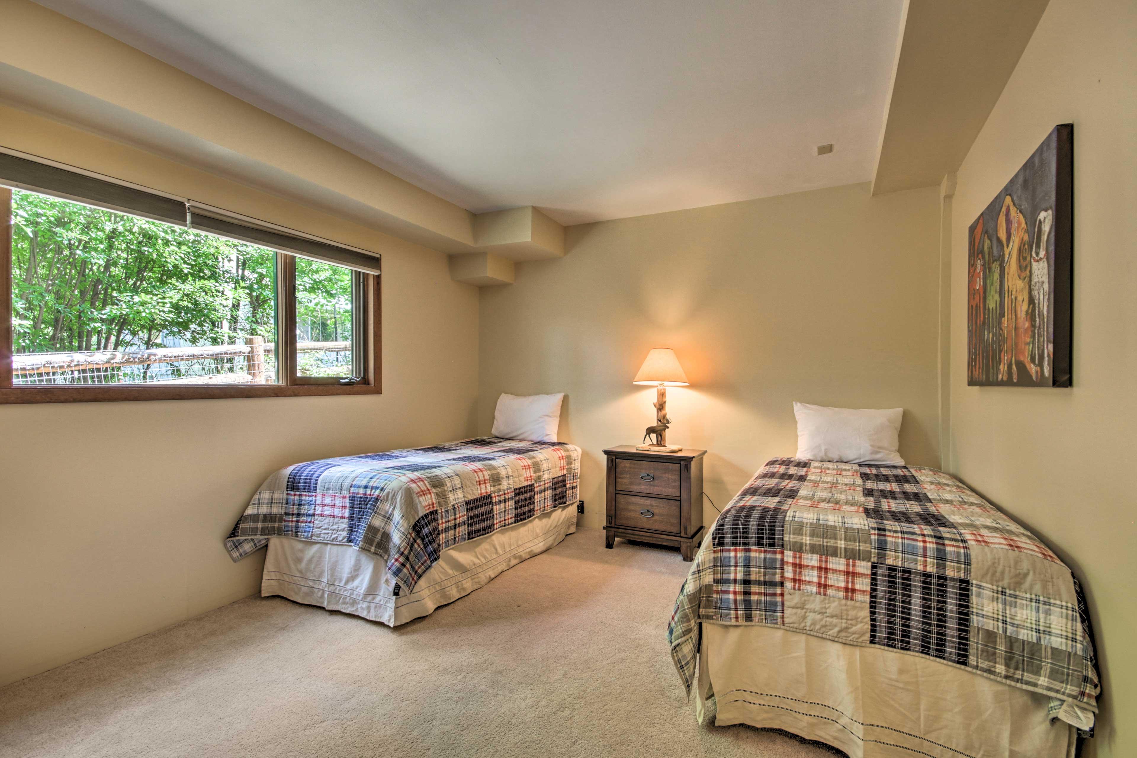 Main House   Bedroom 3   Ground Floor   2 Twin Beds