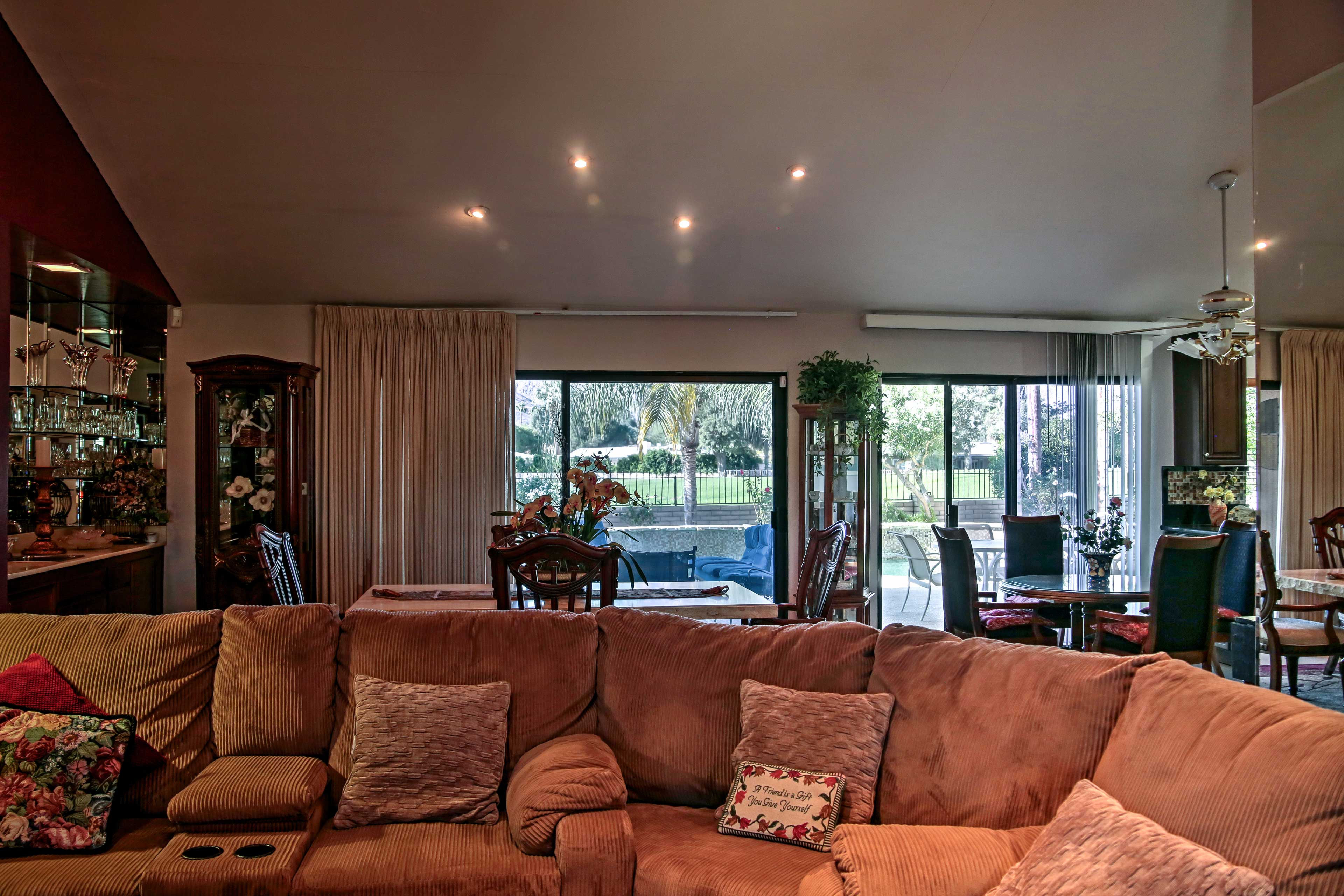 Living Room | Open-Concept Layout | Free WiFi