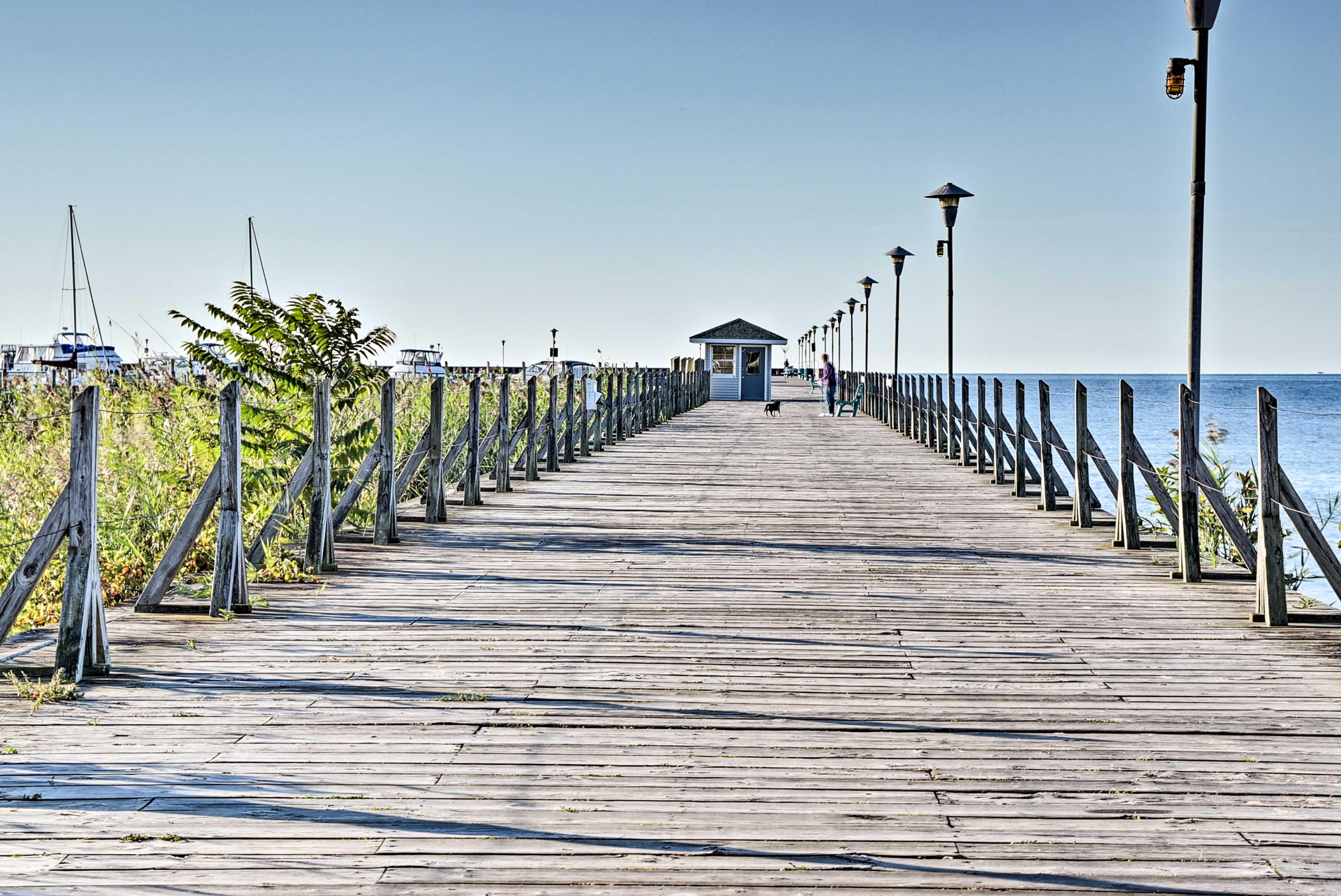 Across the Street | Pier