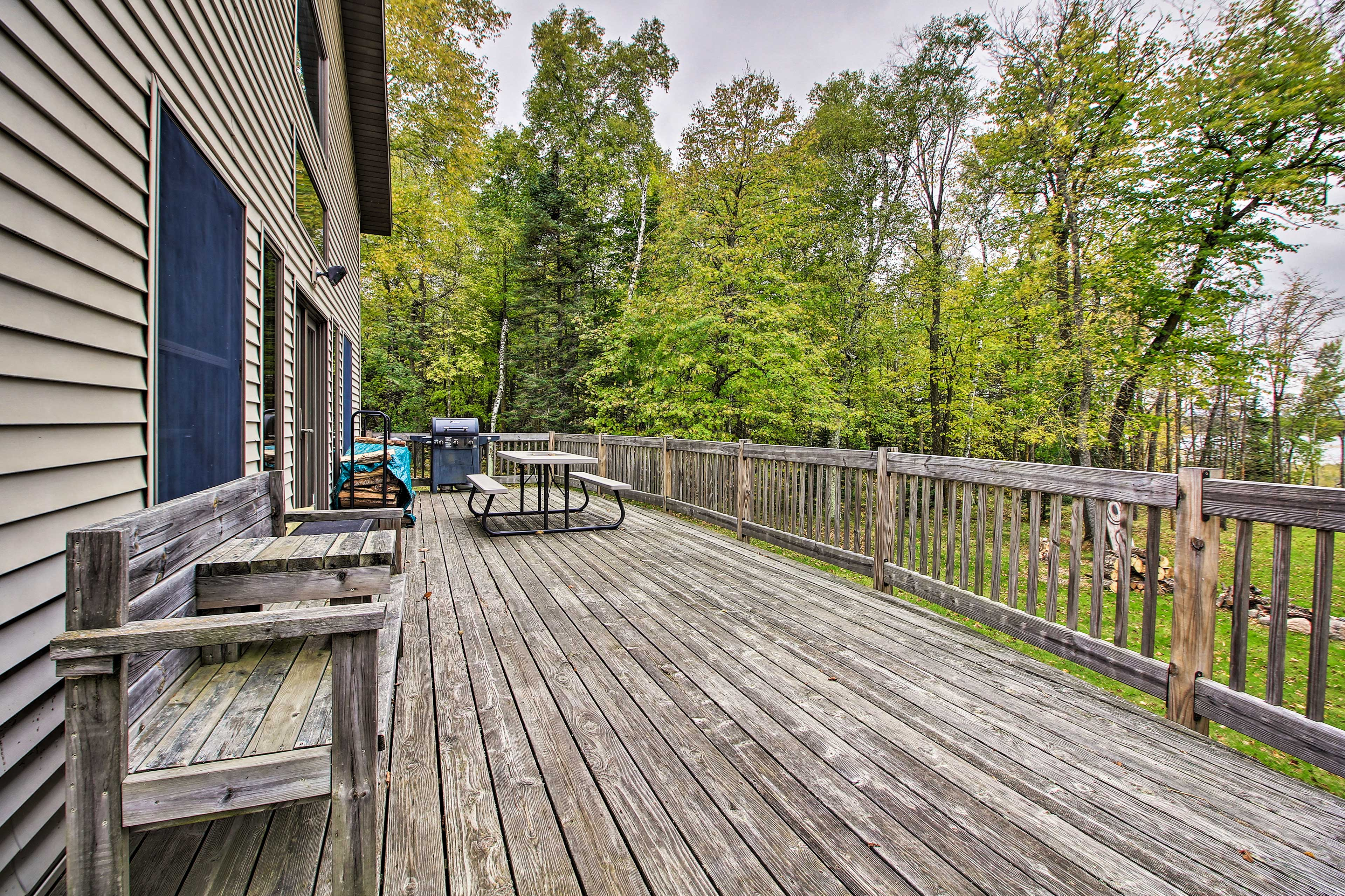 Private Deck | Furnished | Lake View