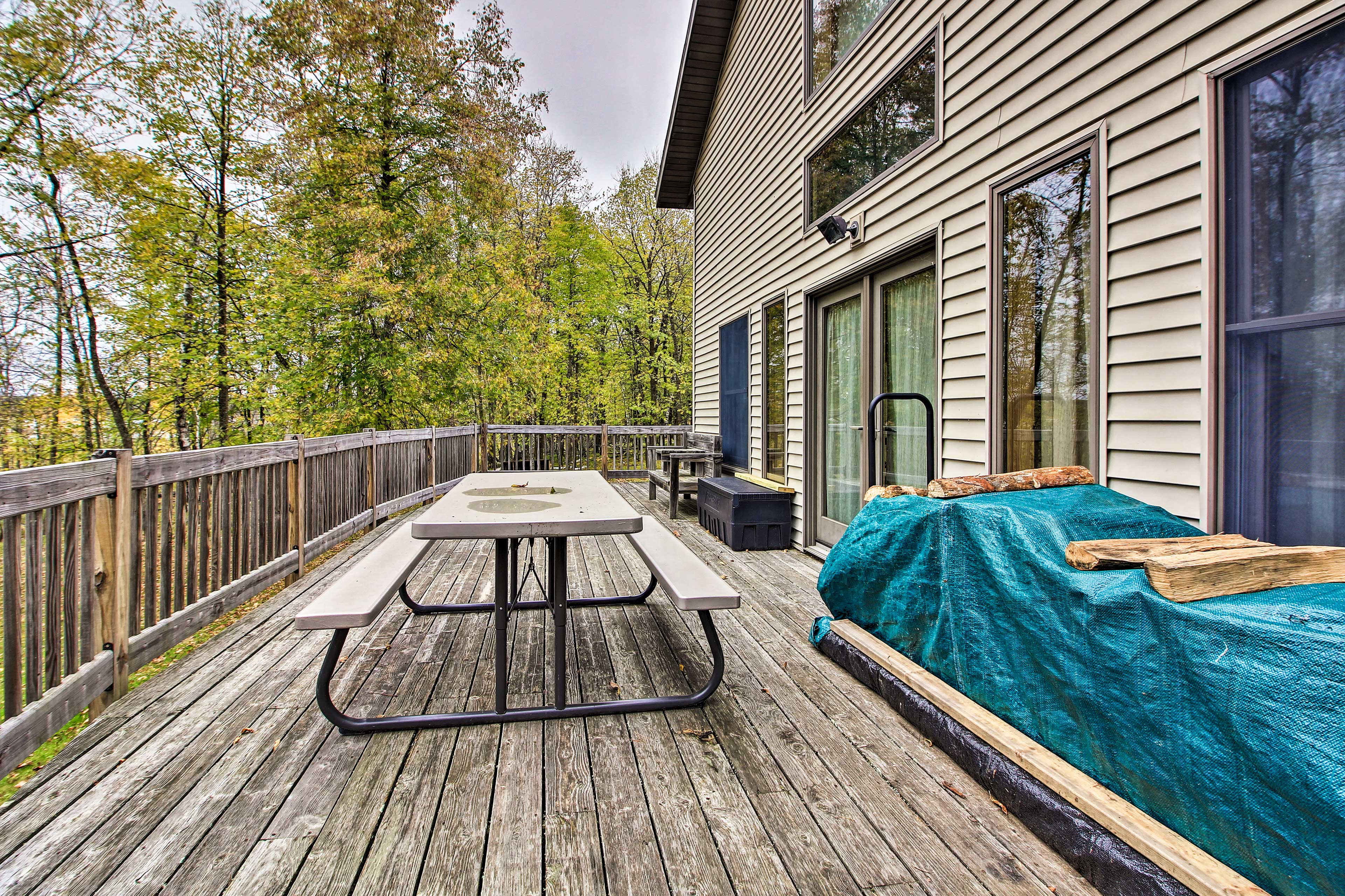 Private Deck | Firewood Provided