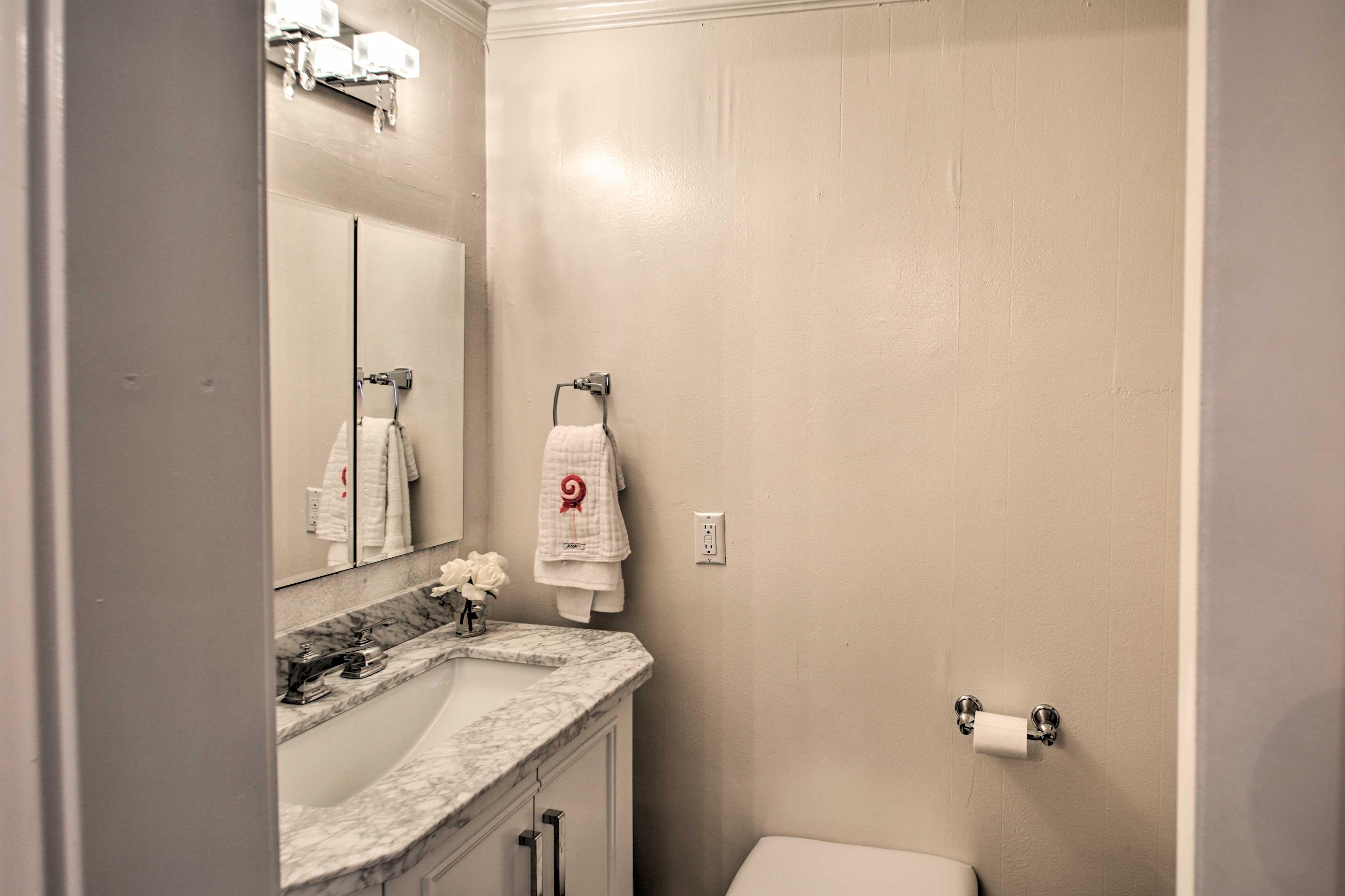 En-Suite Half Bathroom