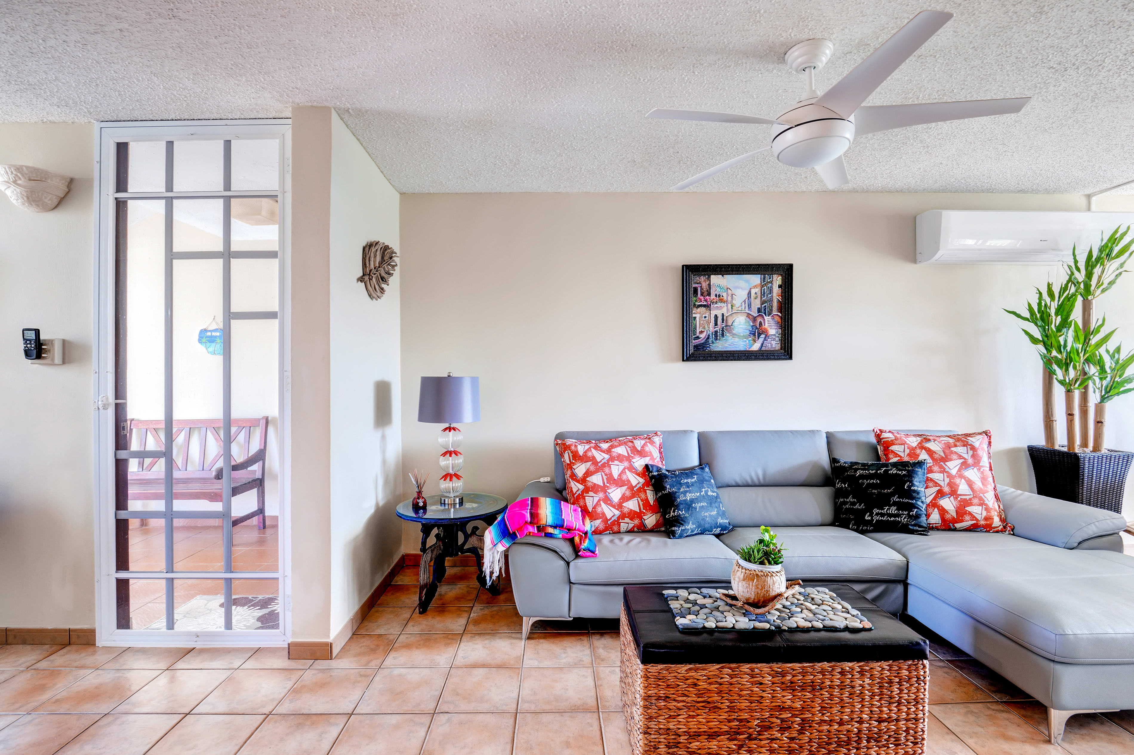 Living Room | Free WiFi | Wall-Unit Air Conditioners