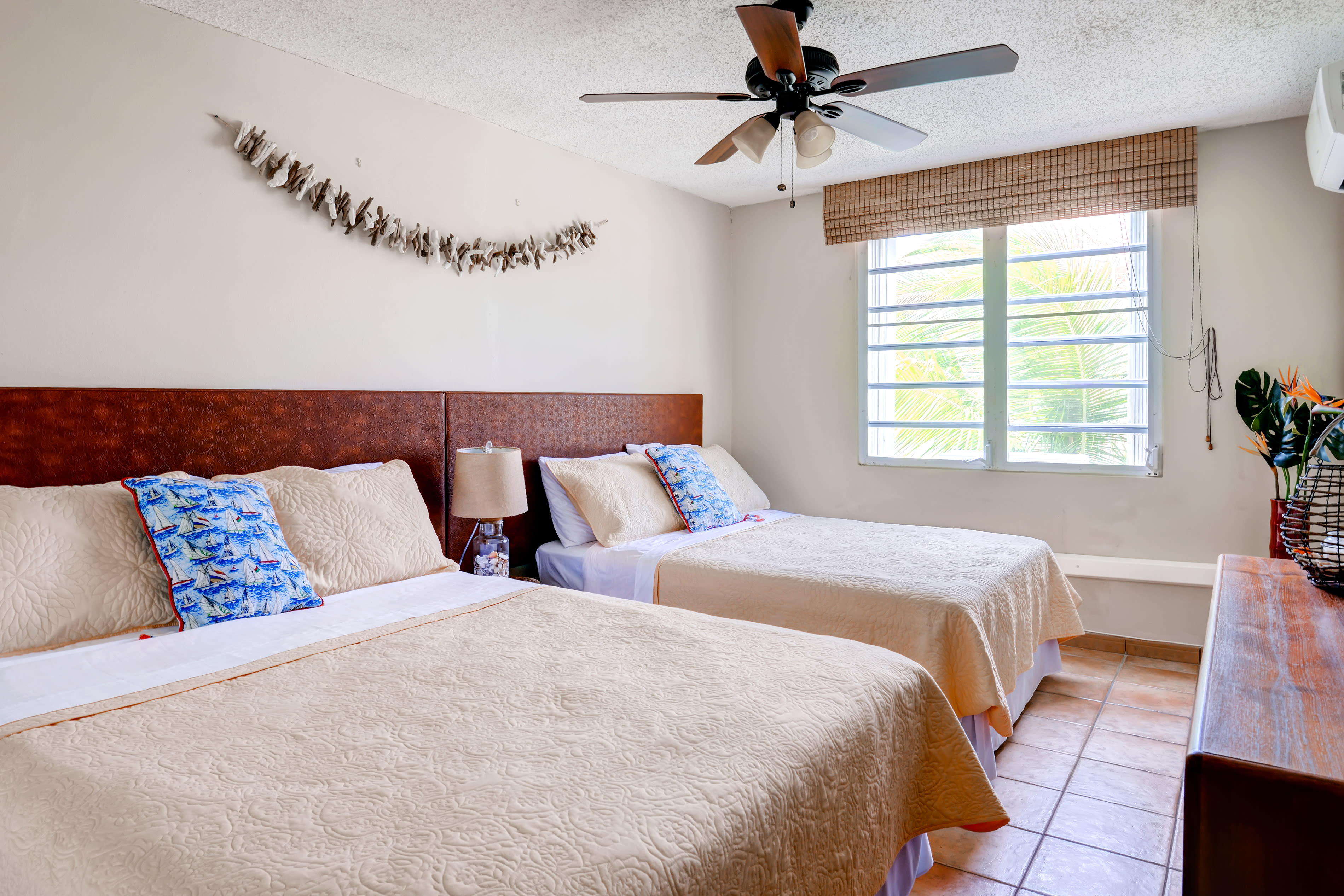 Bedroom 2 | Queen Bed | Full Bed | Linens Provided