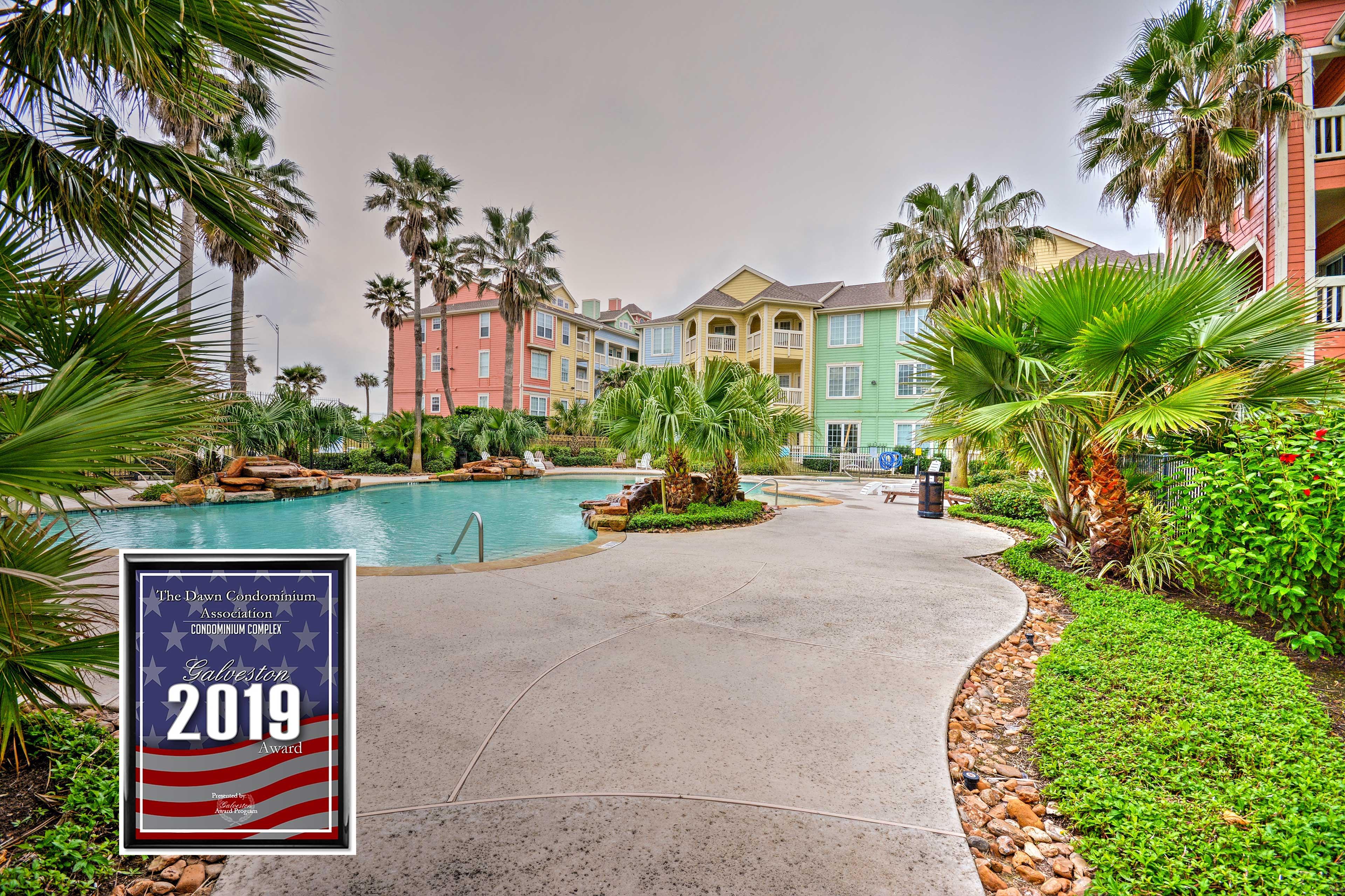 Galveston Vacation Rental | 2BR | 2BA | 1,166 Sq Ft | 1st Floor