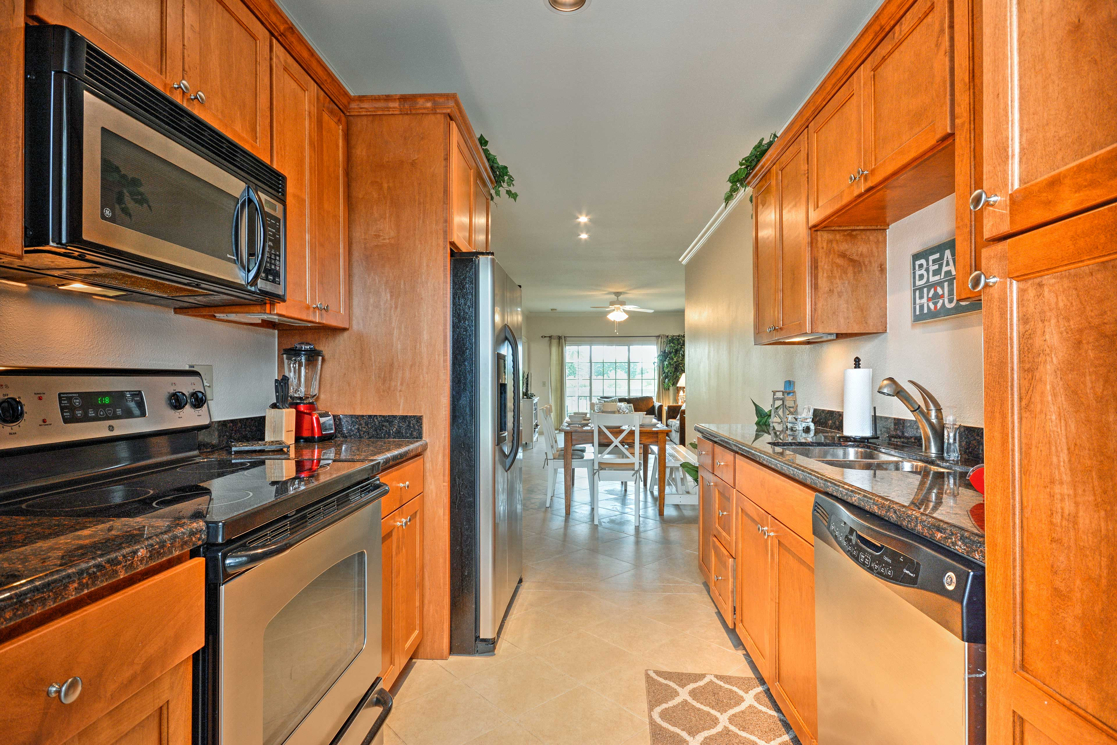 Kitchen | Fully Equipped | Cooking Basics