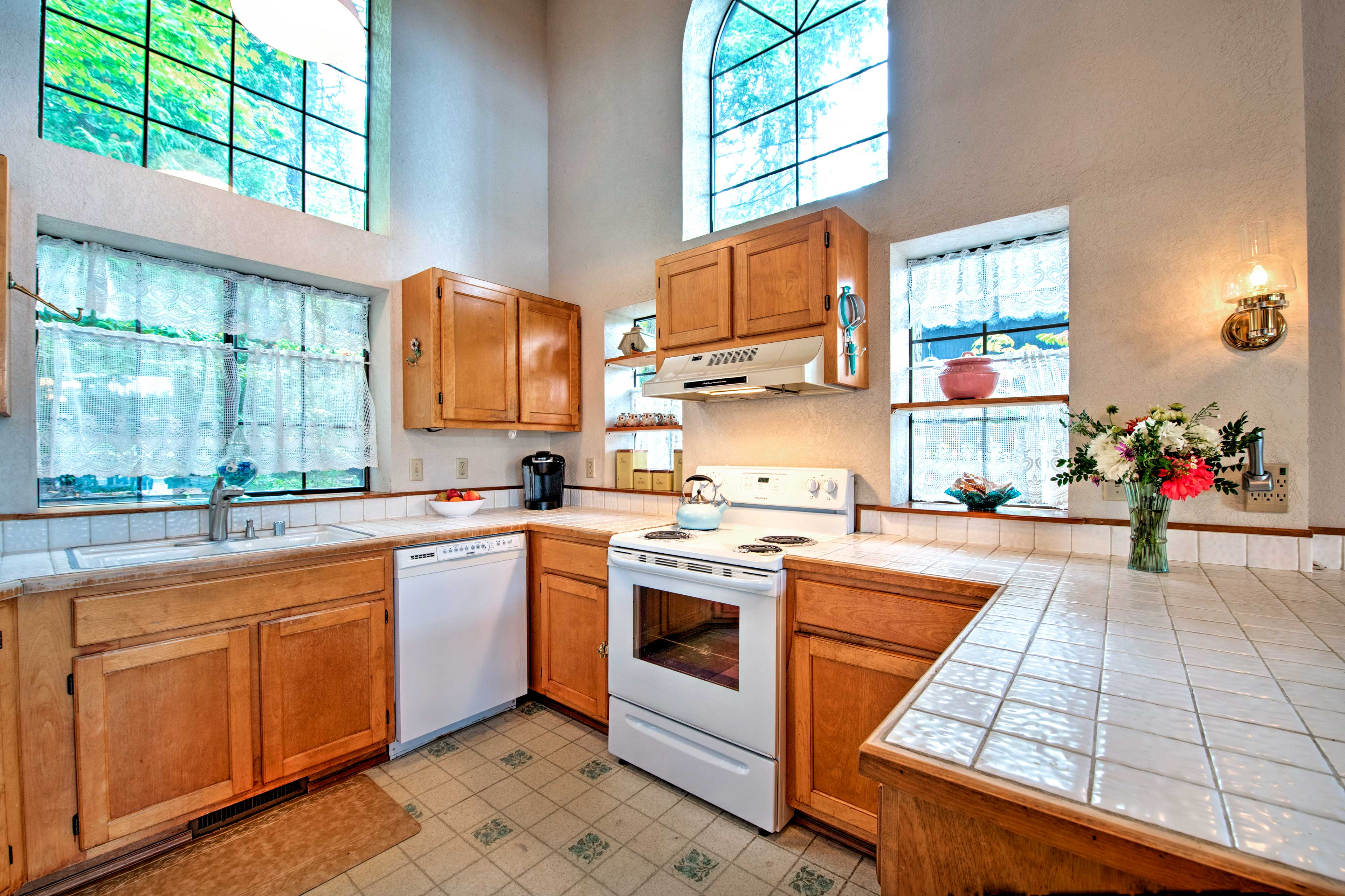 Fully Equipped Kitchen | 1st Floor | Cooking Basics & Spices