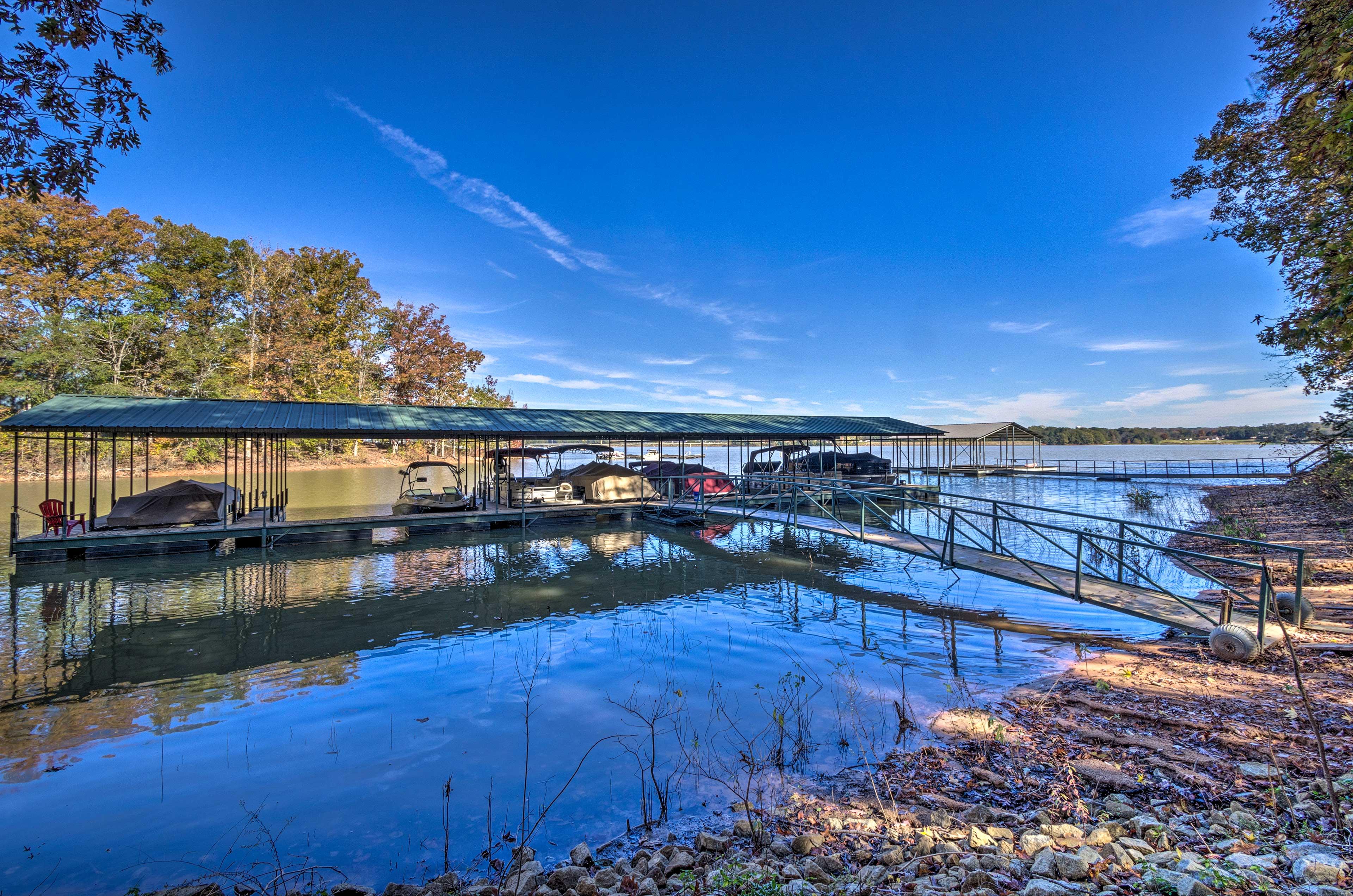 Lake Hartwell Access | Shared Dock