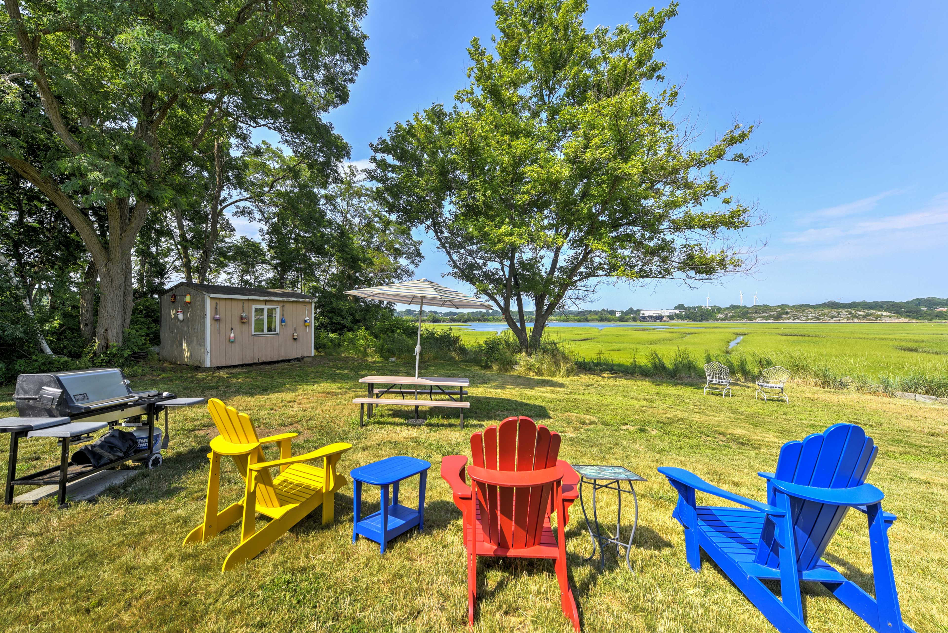 Gloucester Vacation Rental | Private Cottage | 3BR | 1BA | 800 Sq Ft