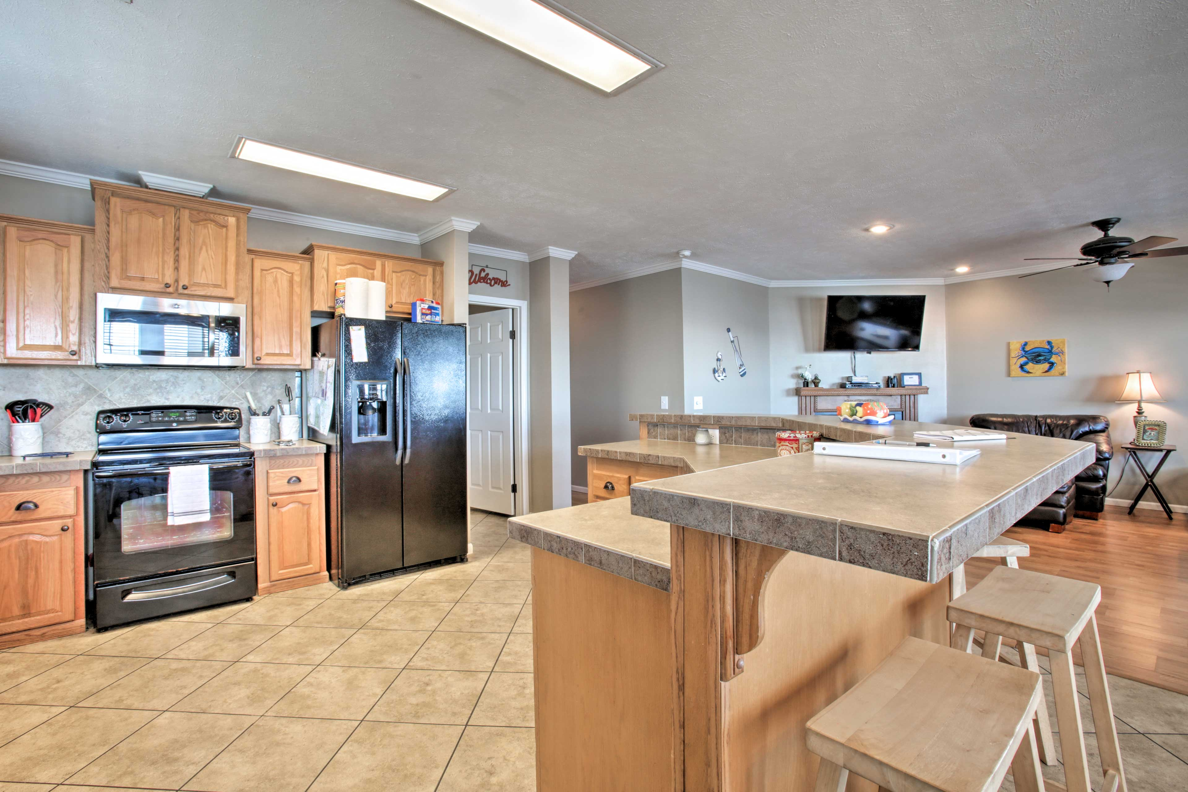 Kitchen | Fully Equipped | Keurig Coffee Maker