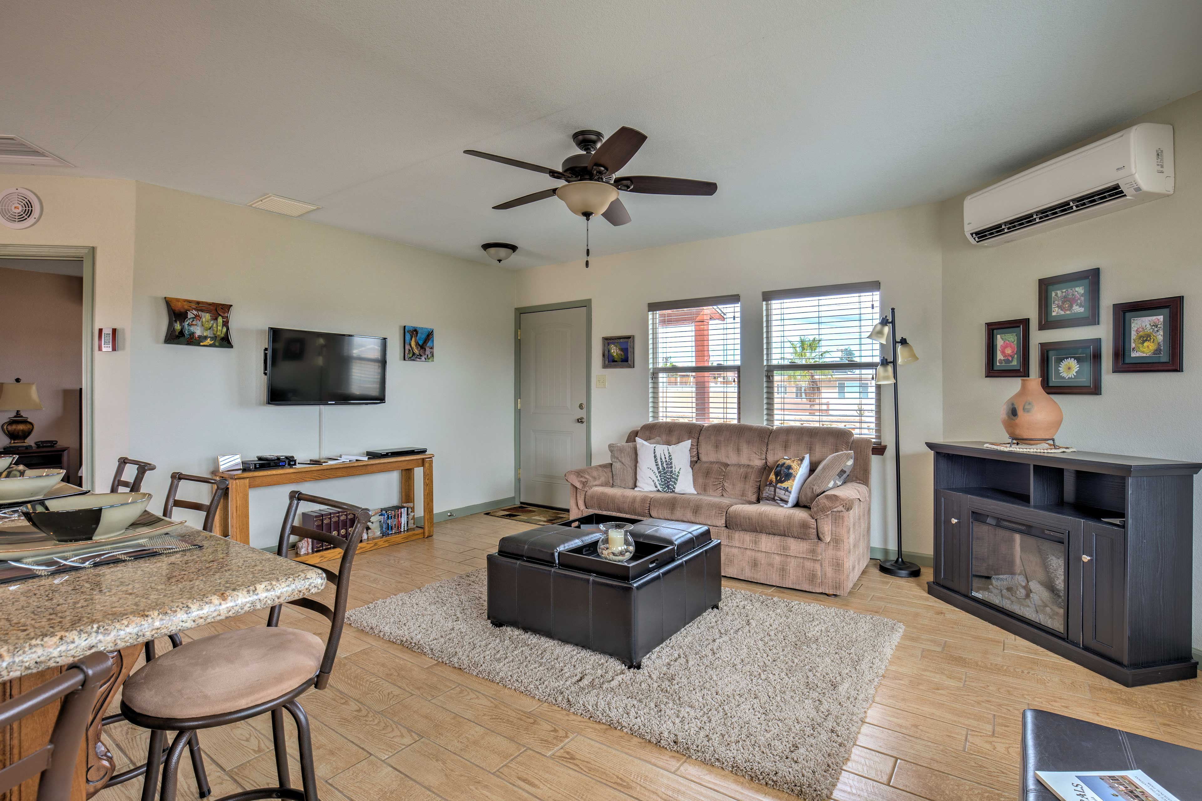 Living Room | Step-Free Access | Smart TV