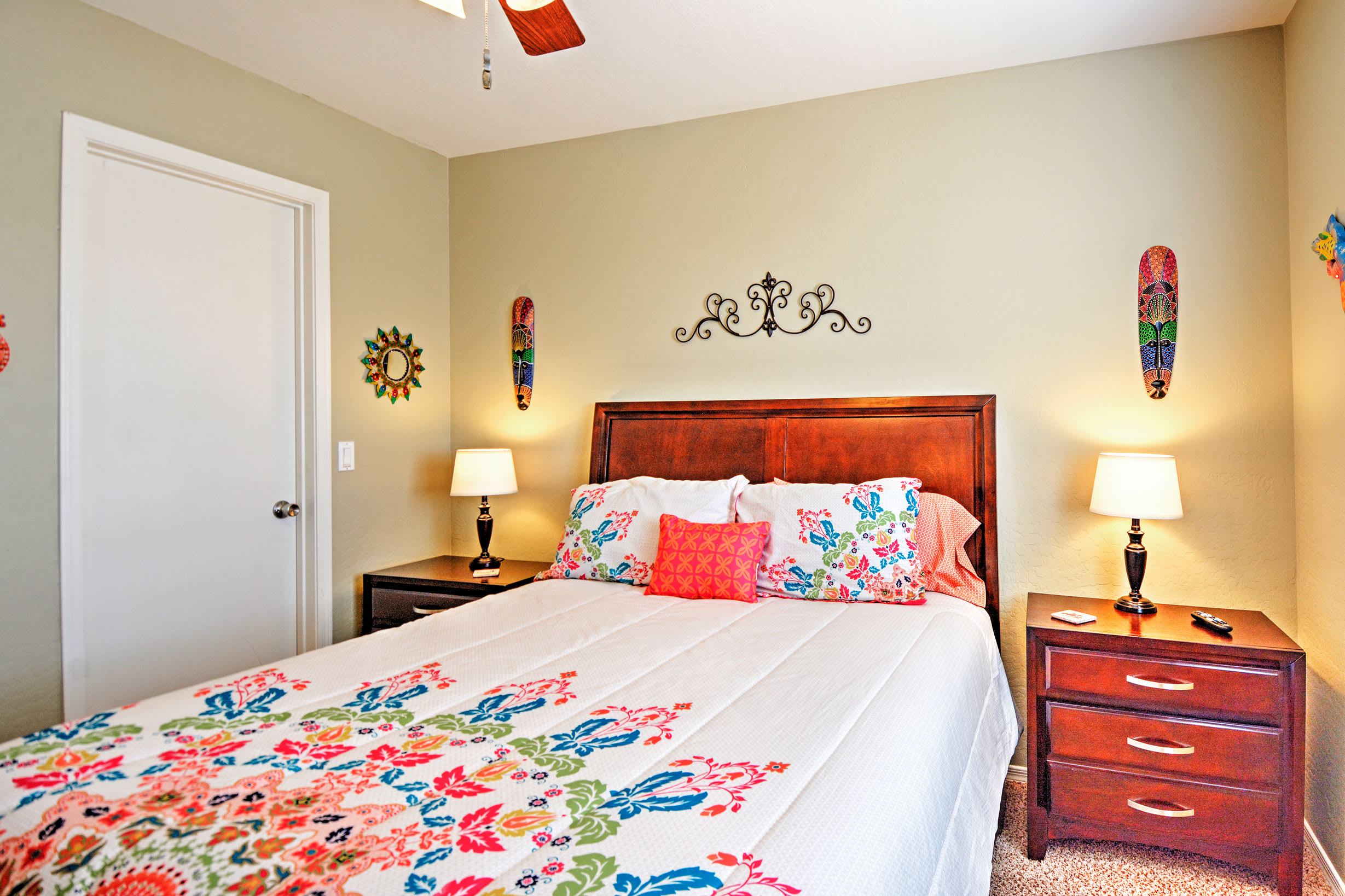 Grab a book and escape to the third bedroom for quiet time.