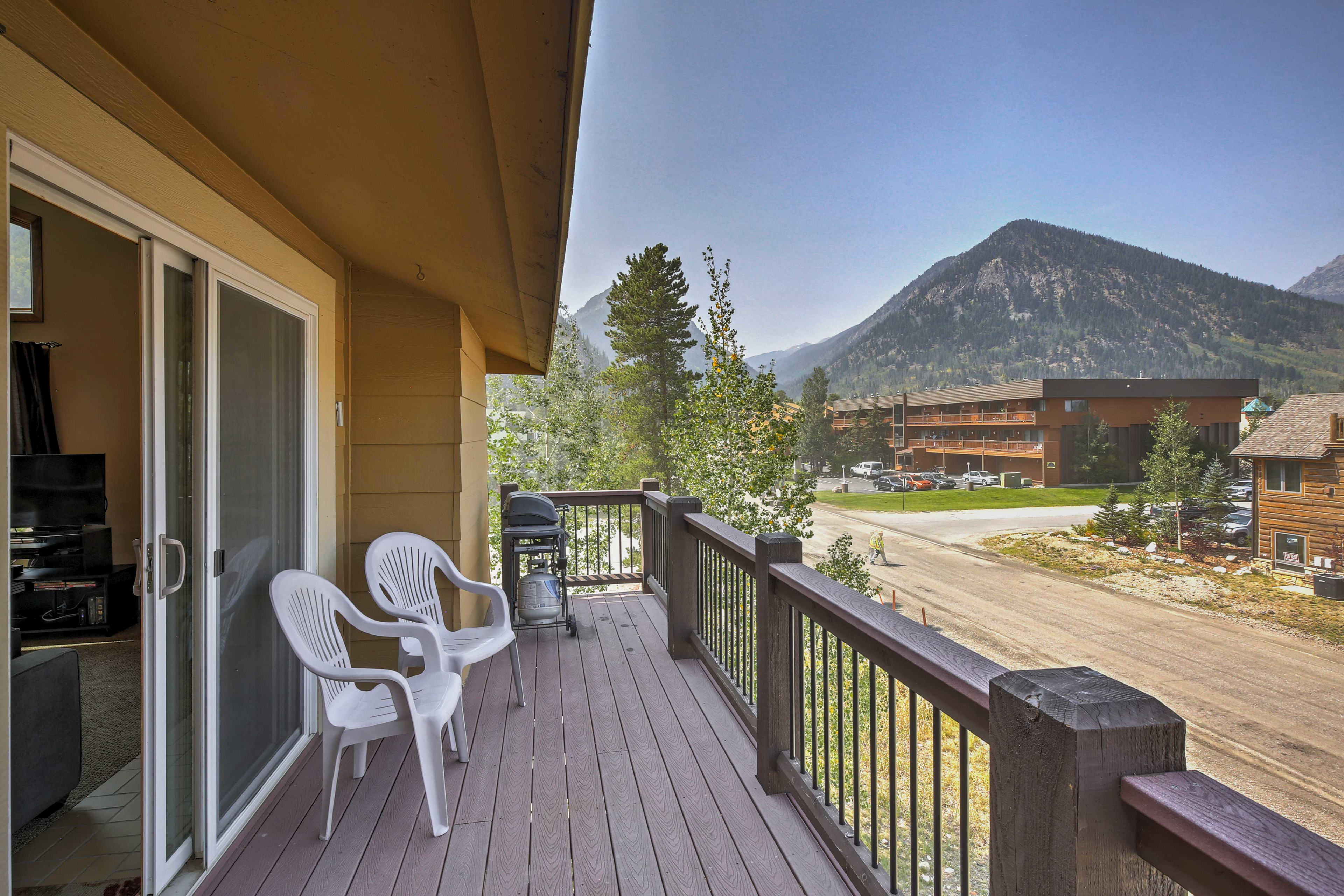 Exterior Space | View of Rocky Mountains