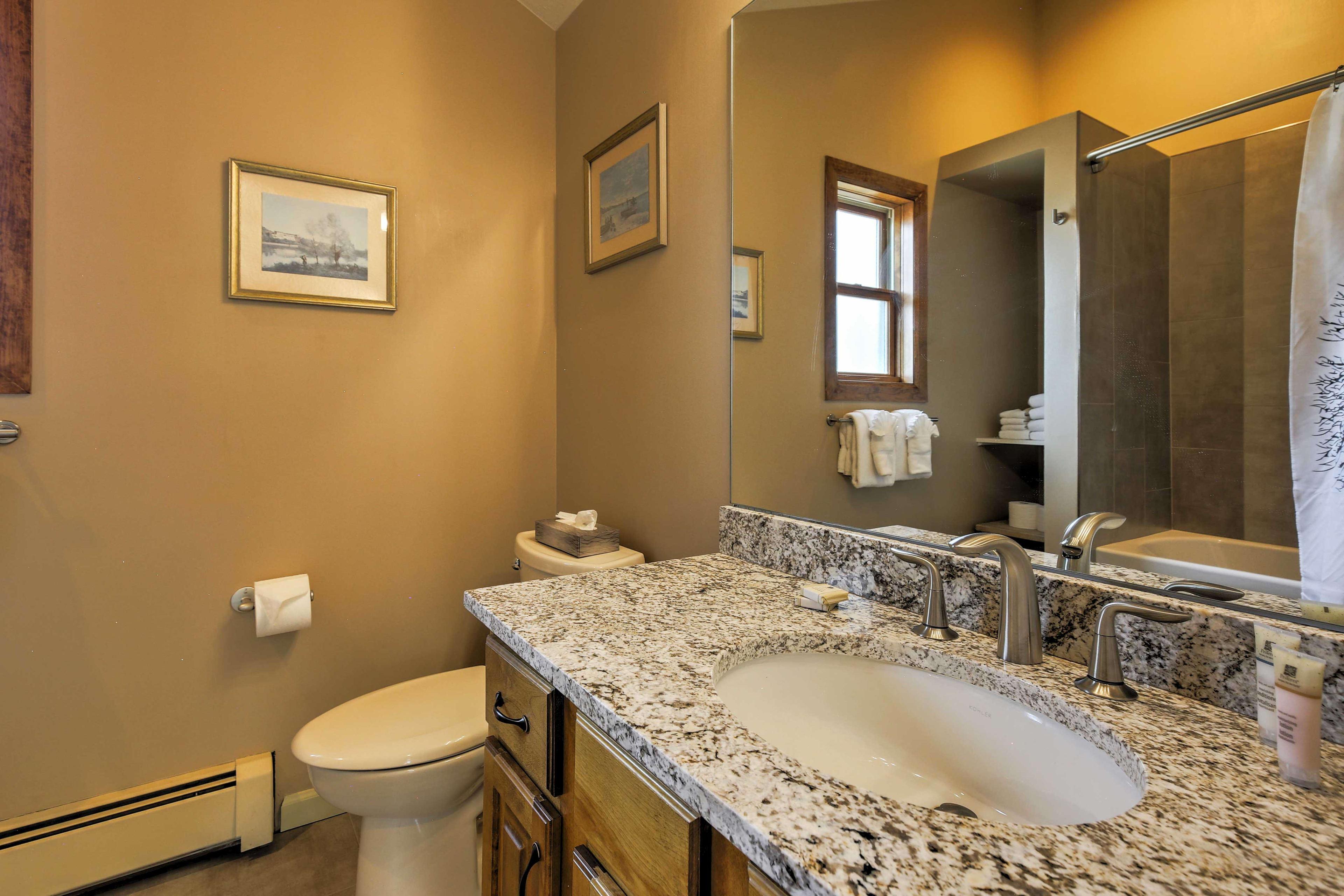 Bathroom | Complimentary Toiletries