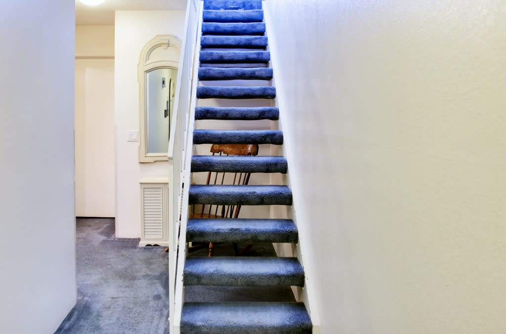 Entry Hall   Stairs Required to Access Property