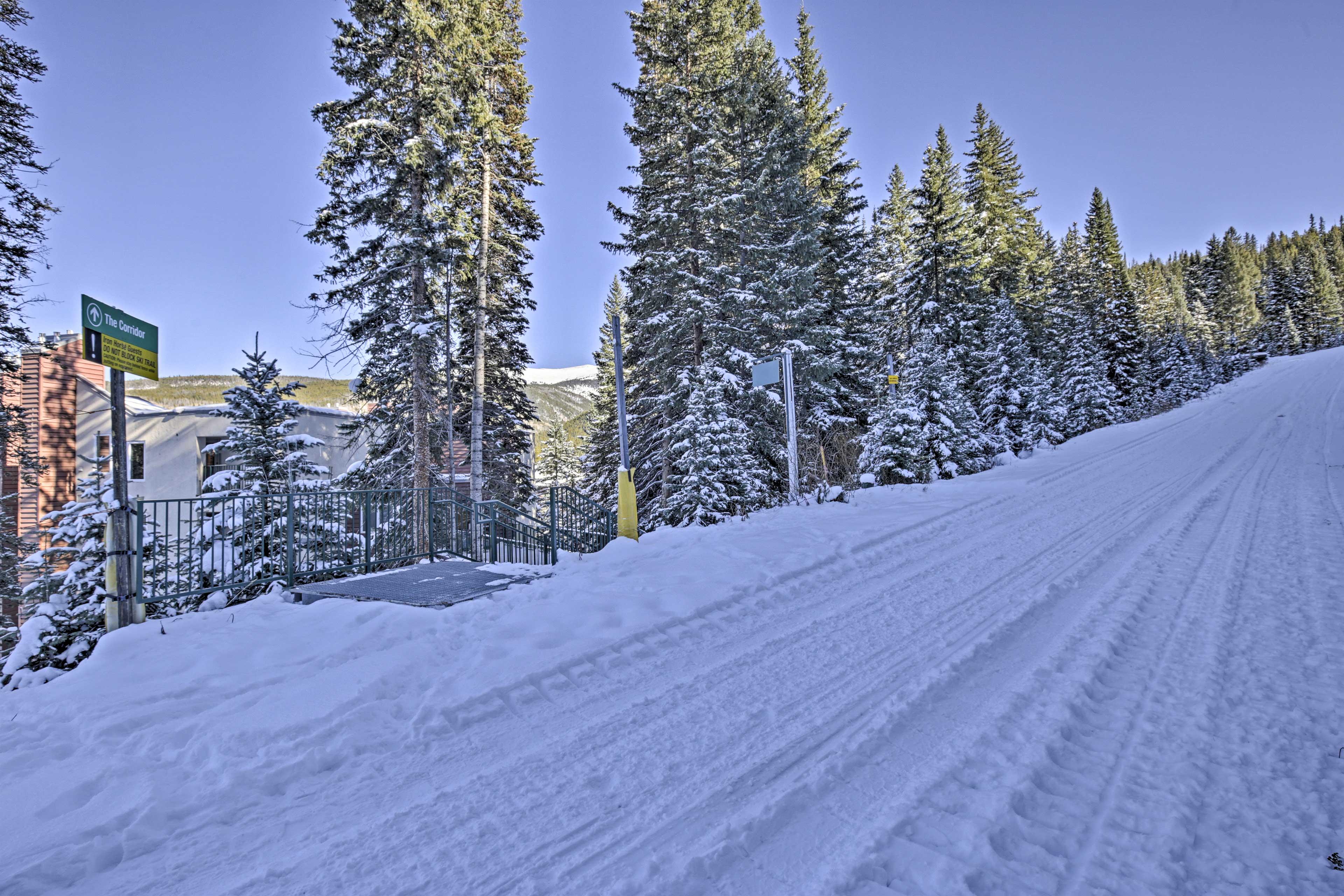 Condo Exterior   Ski-In/Ski-Out Access