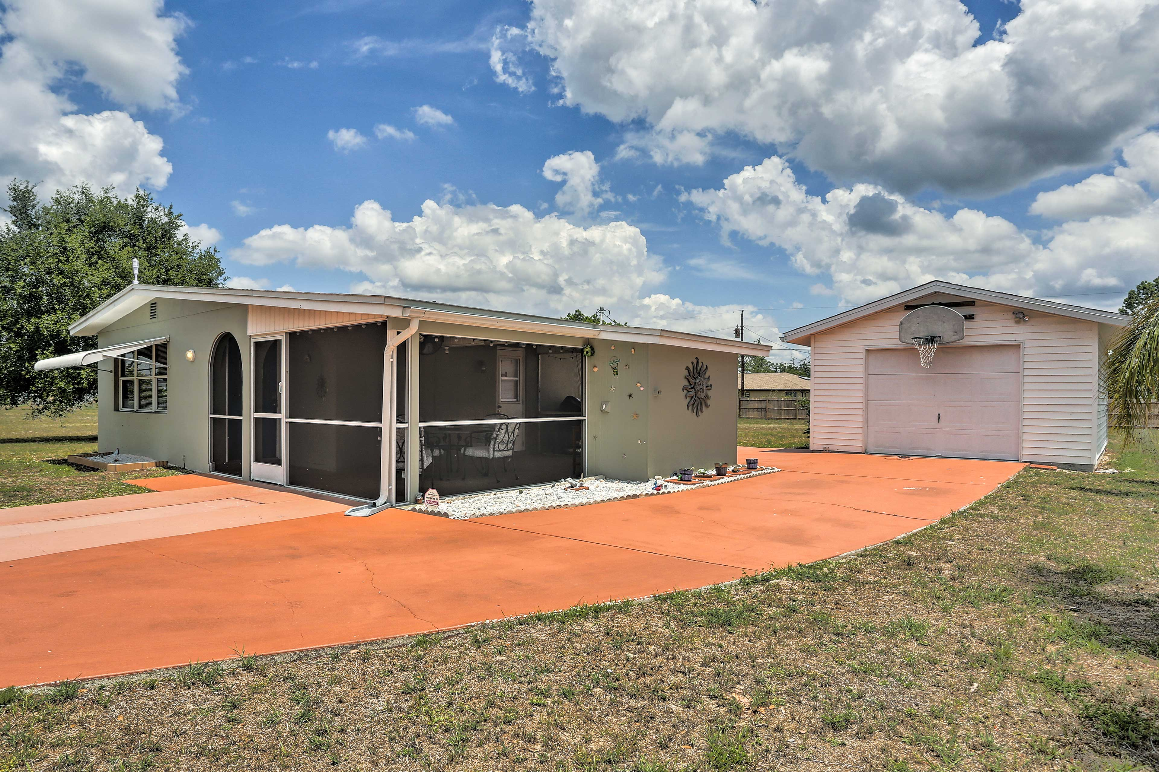 Experience the best of Lehigh Acres at this 2-bedroom, 1-bathroom home.