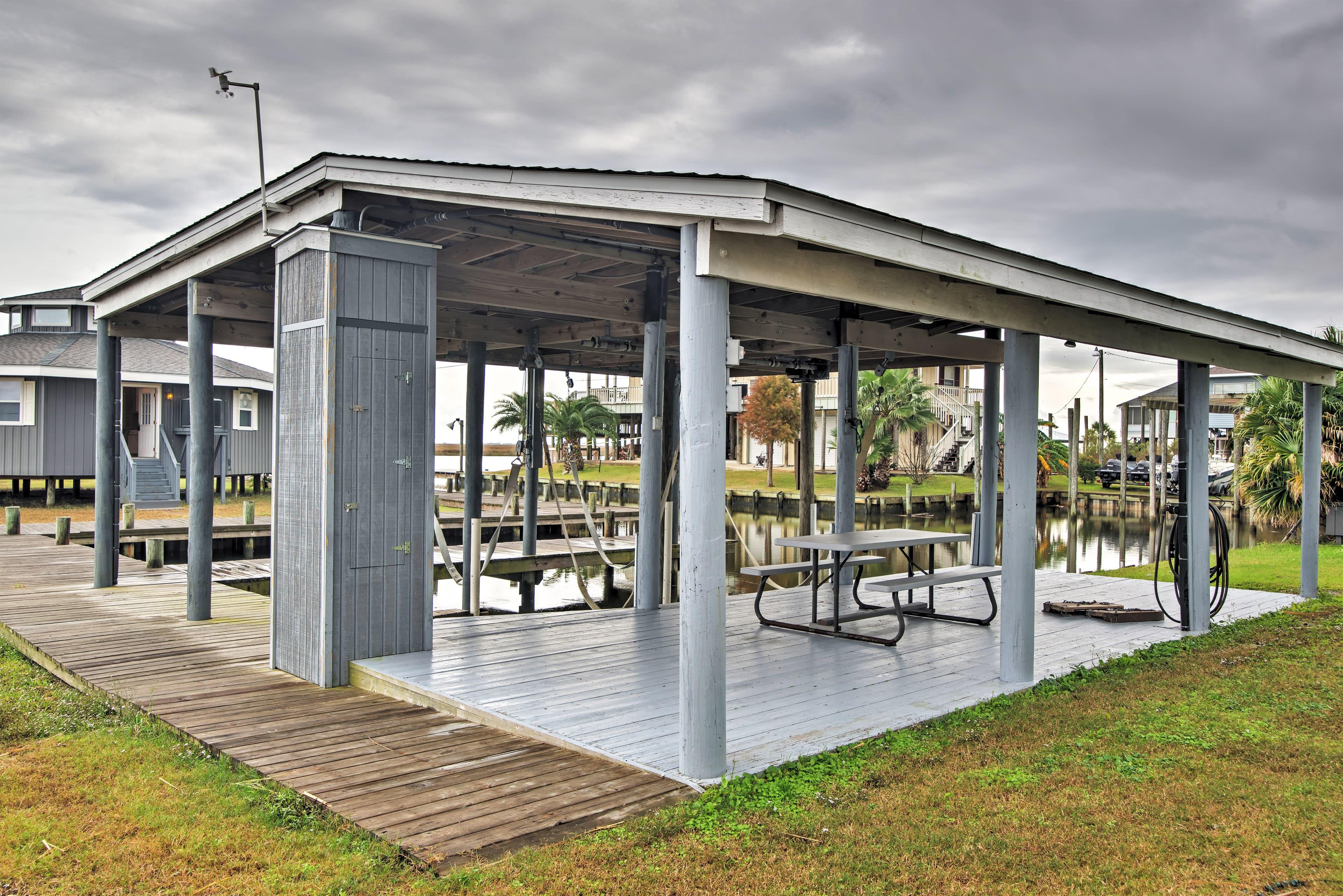 Shared Boat Dock