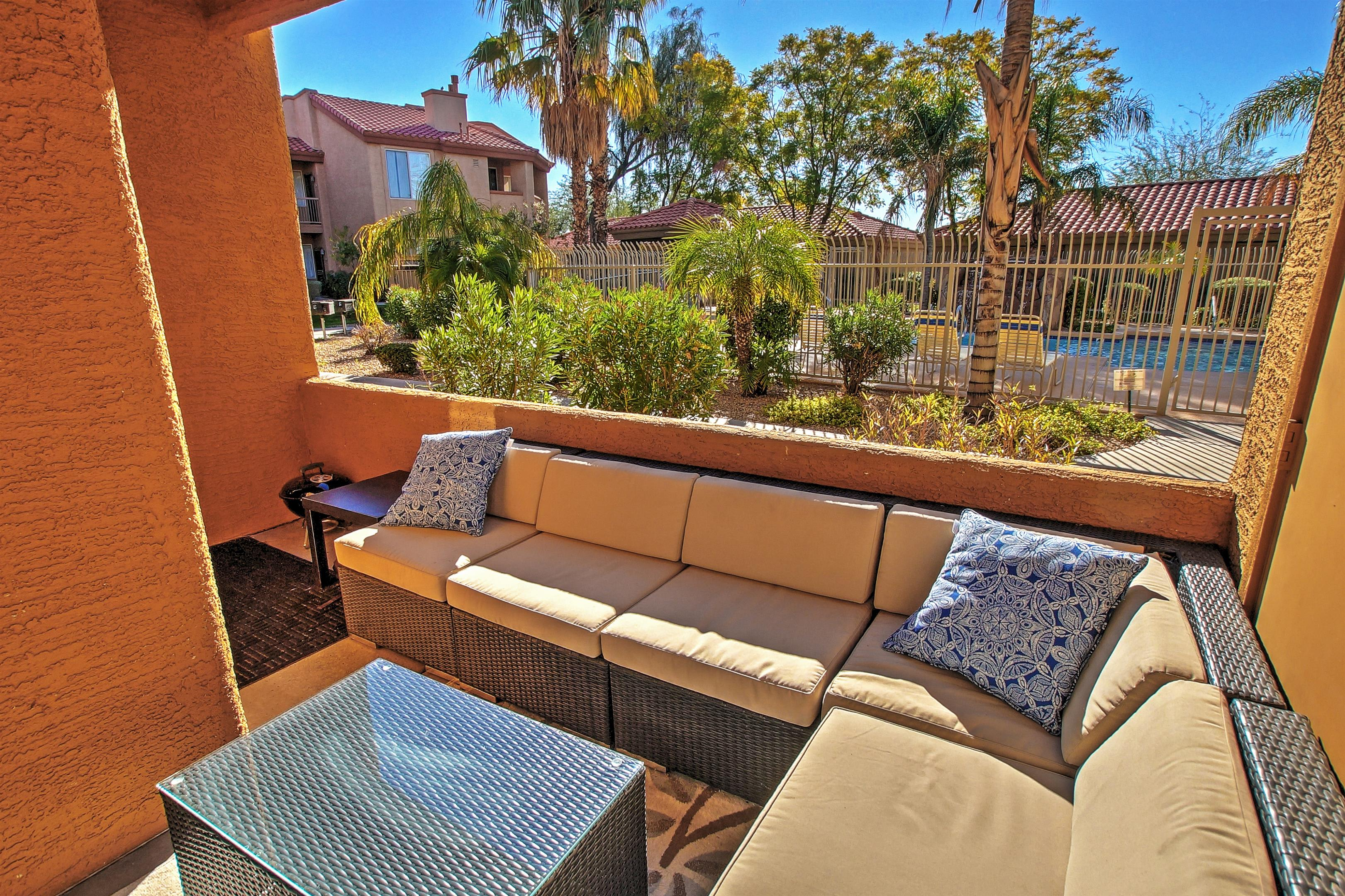 Phoenix Vacation Rental Condo | 2BR | 2BA | 500 Sq Ft | Single Story