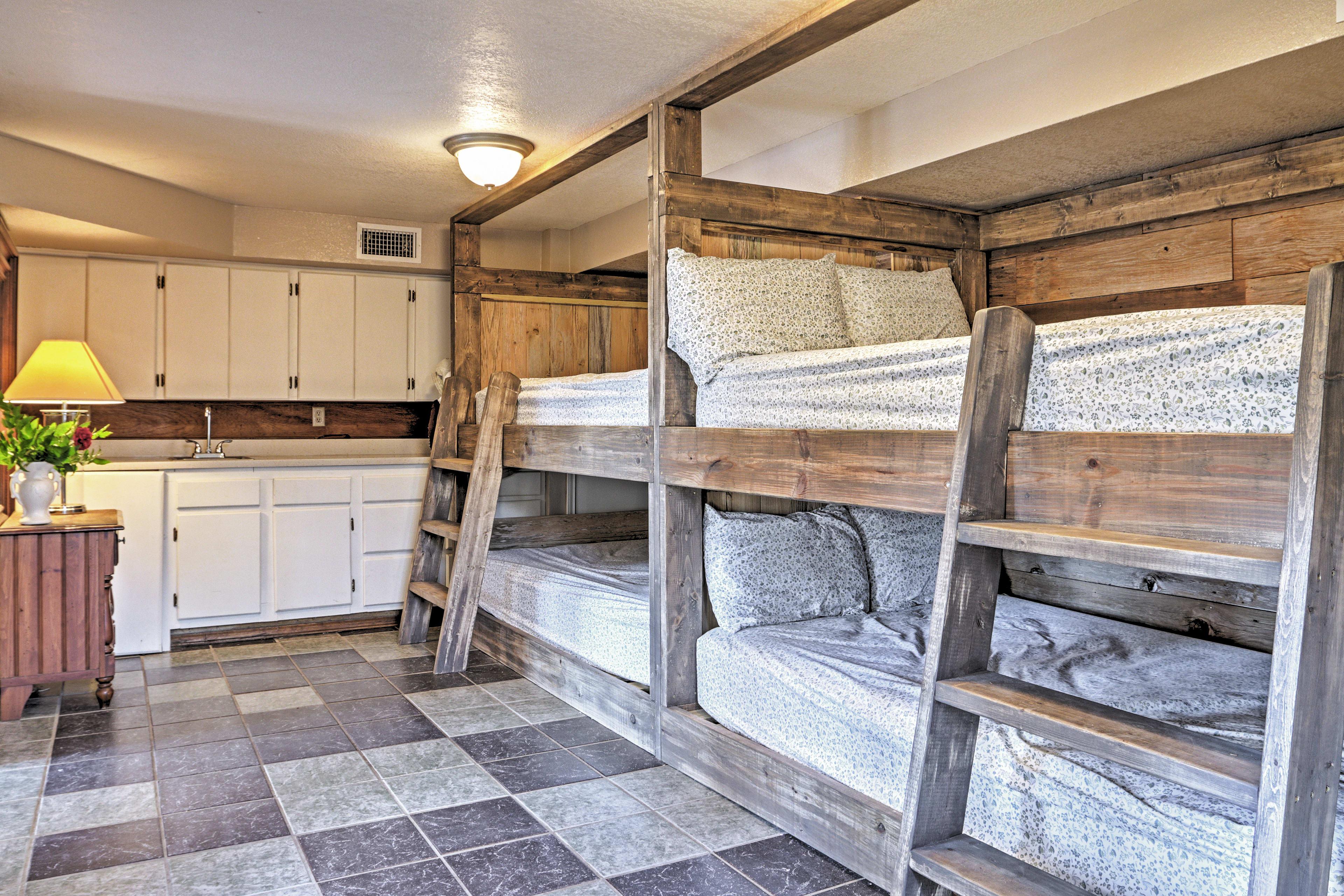Bedroom 4 | 2 Full Bunk Beds