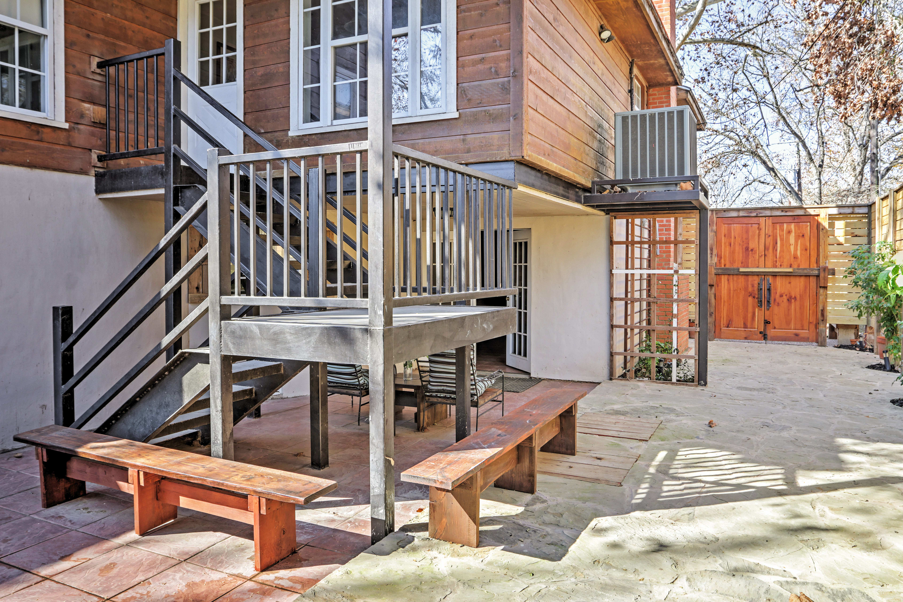 Home Exterior | Multiple Seating Areas