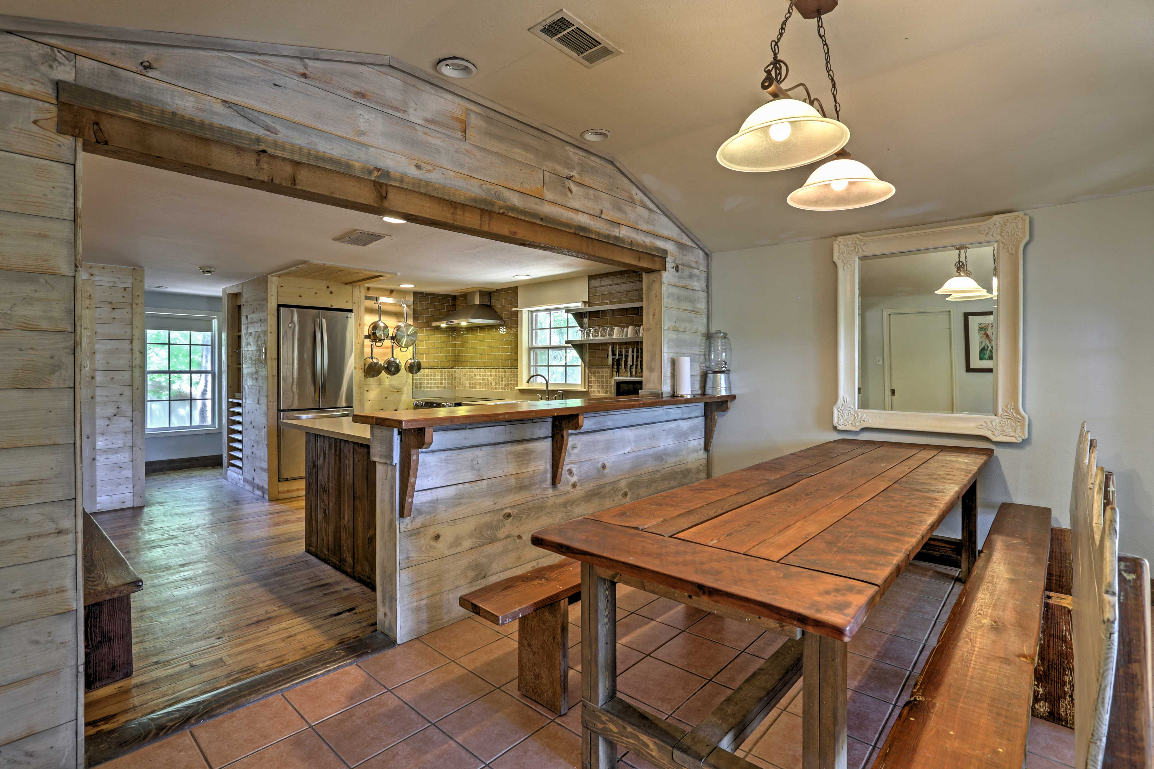 Kitchen & Dining Area | 2 Dining Tables