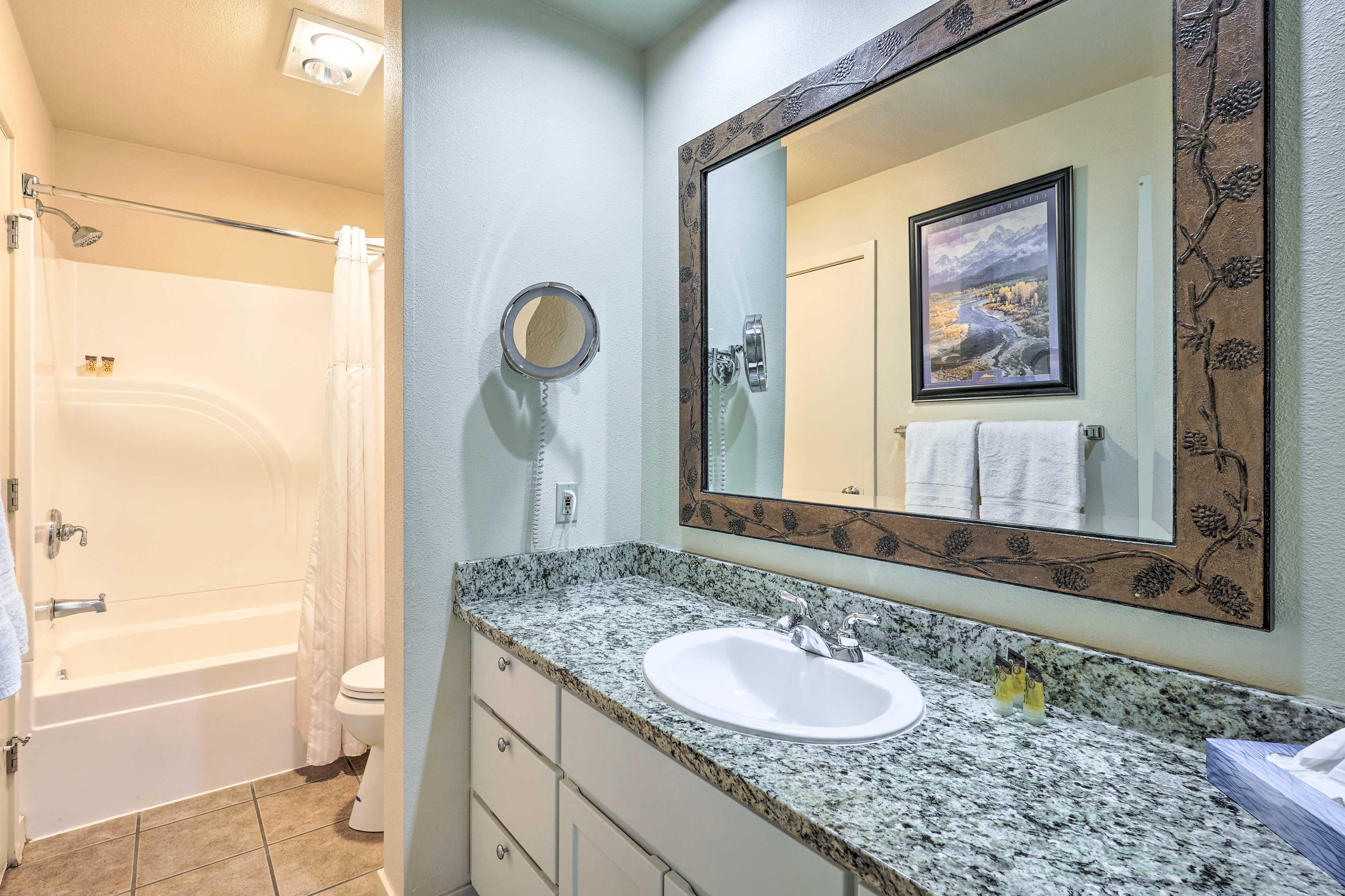 En-Suite Bathroom   Towels Provided