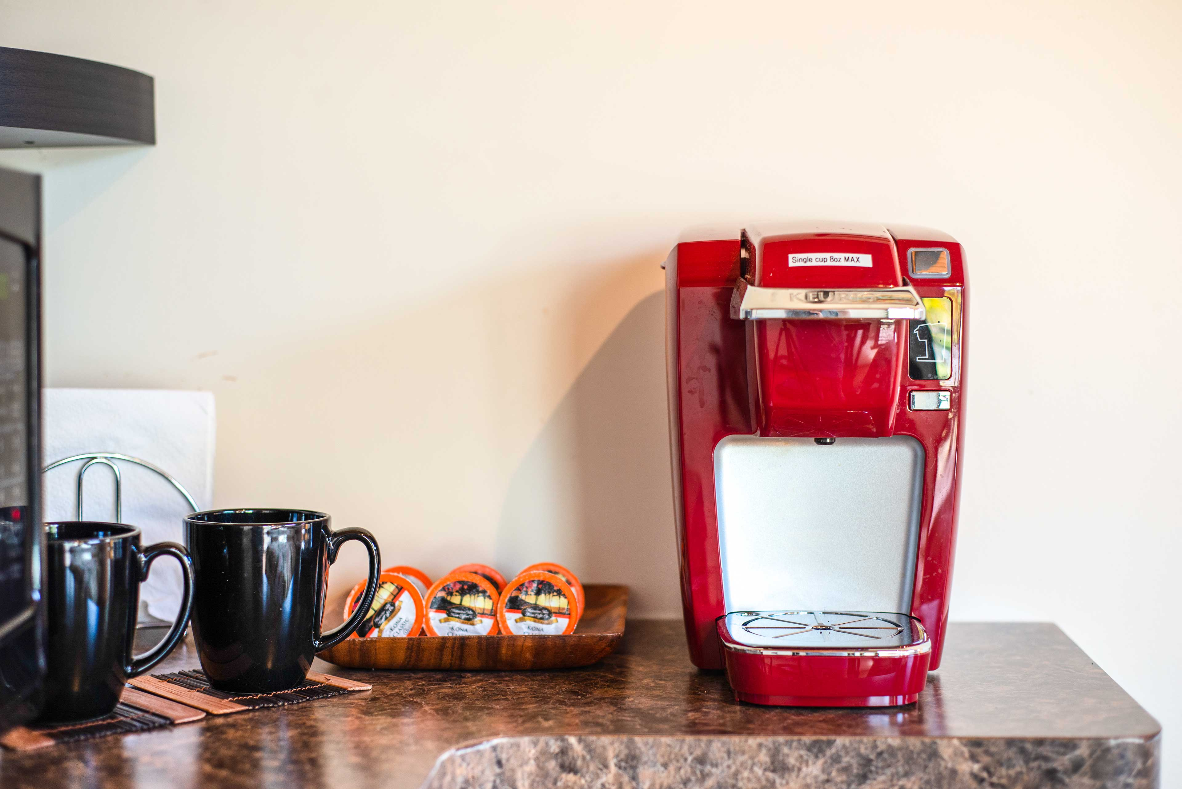 Studio   Kitchenette   Coffee Maker