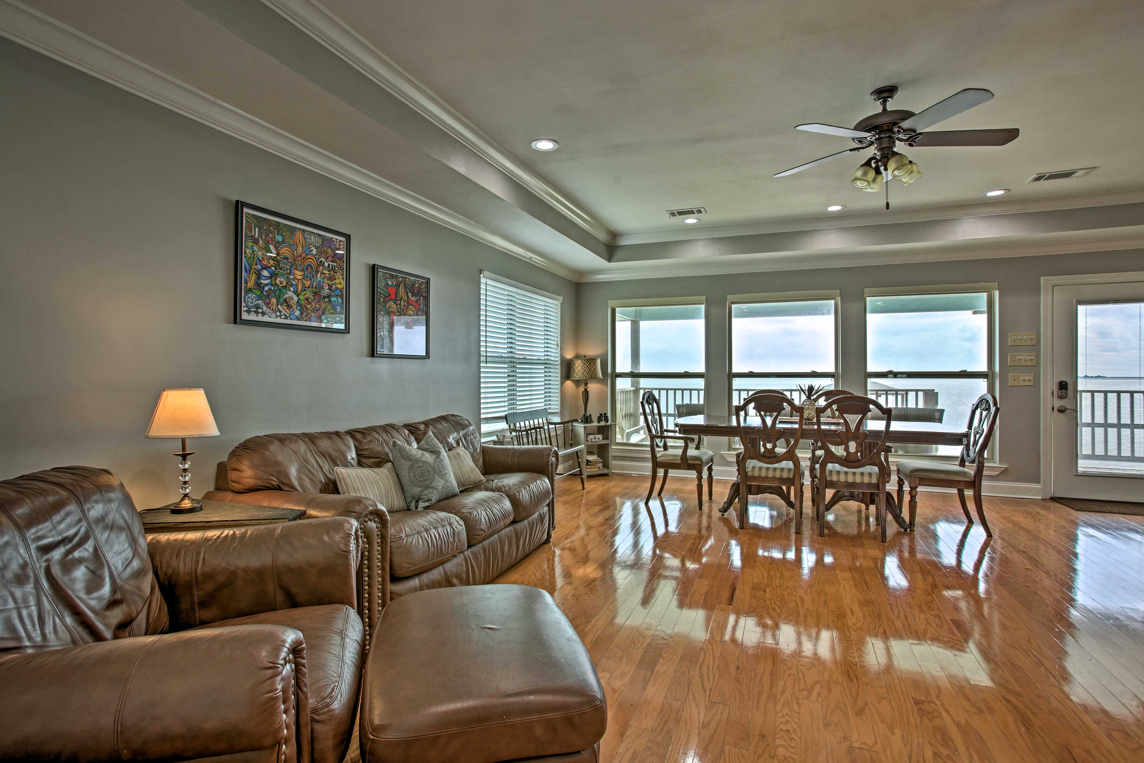 Living Room | Stairs Required | Free WiFi | Central A/C & Heat