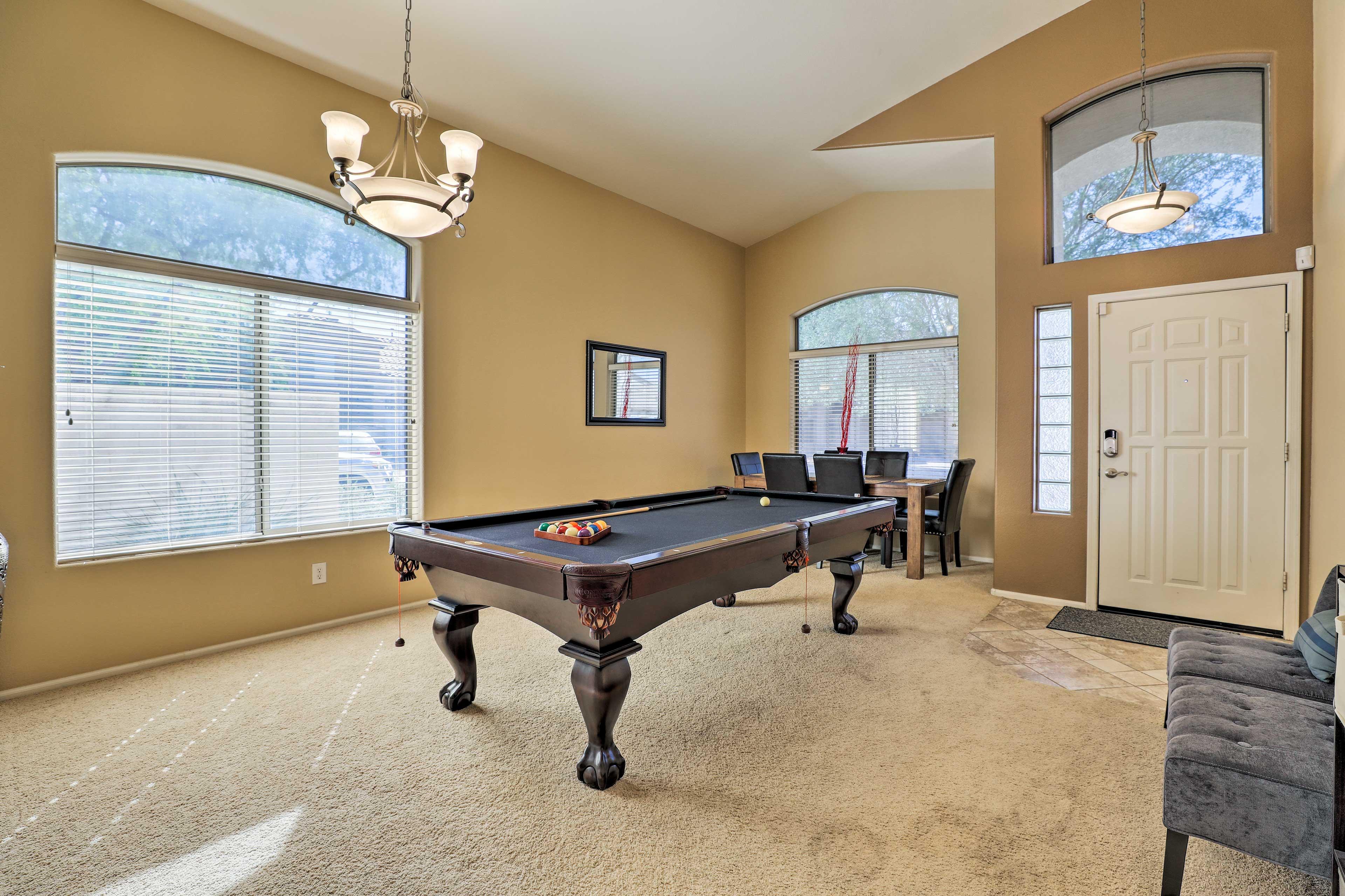 Interior   Pool Table