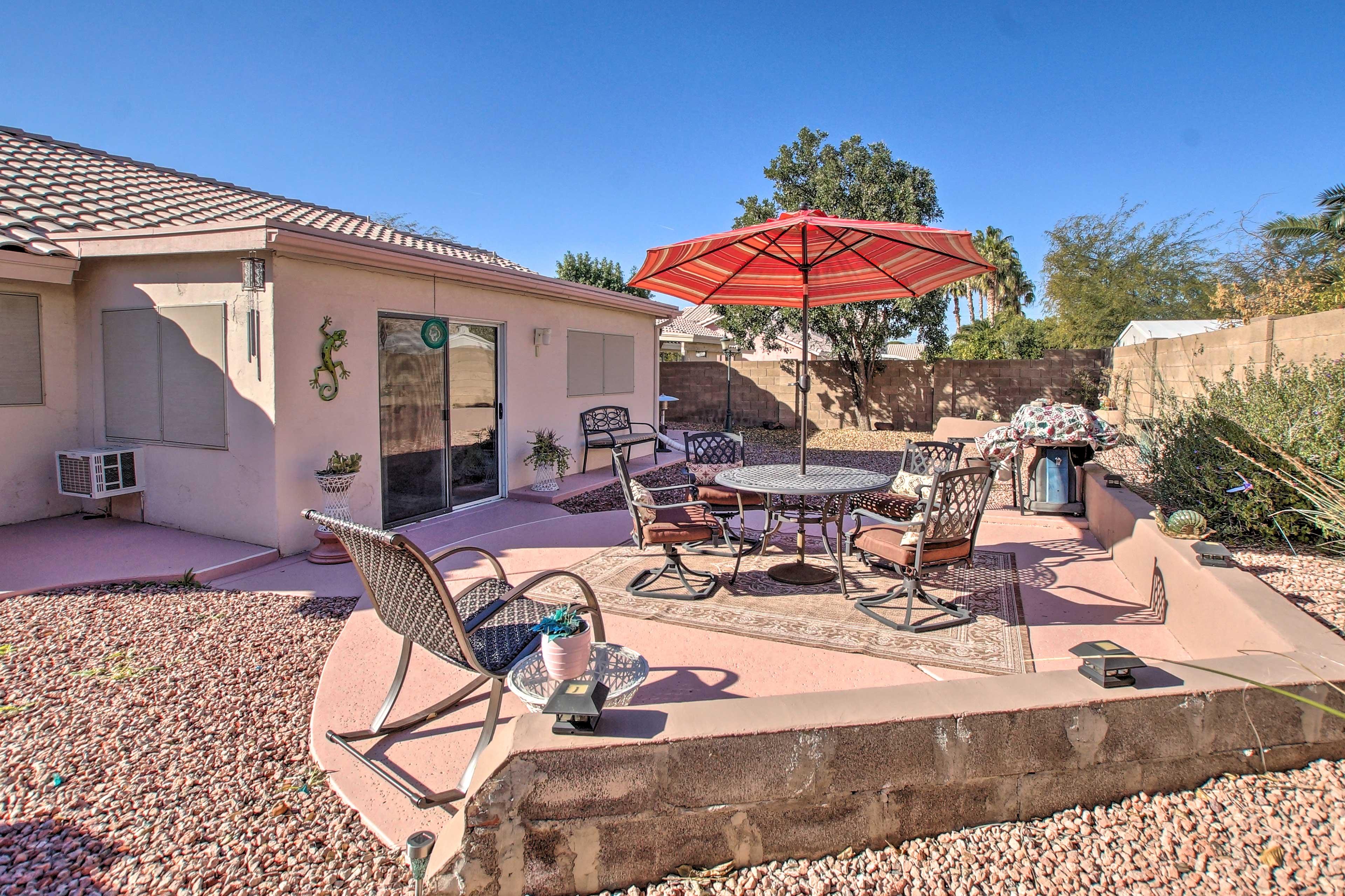 Phoenix Vacation Rental Home   3BR   2BA   Single Story   1,650 Sq Ft