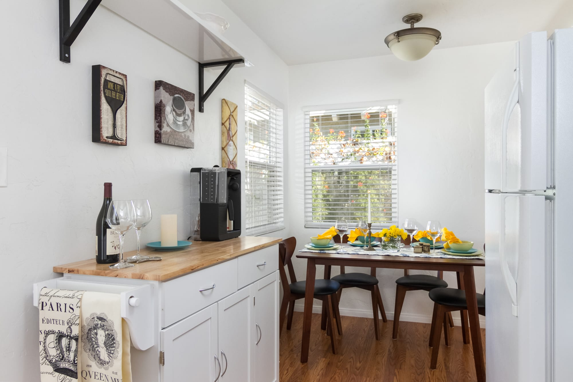 Well-Equipped Kitchen | Drip Coffee Maker | Trash Bags/Paper Towels
